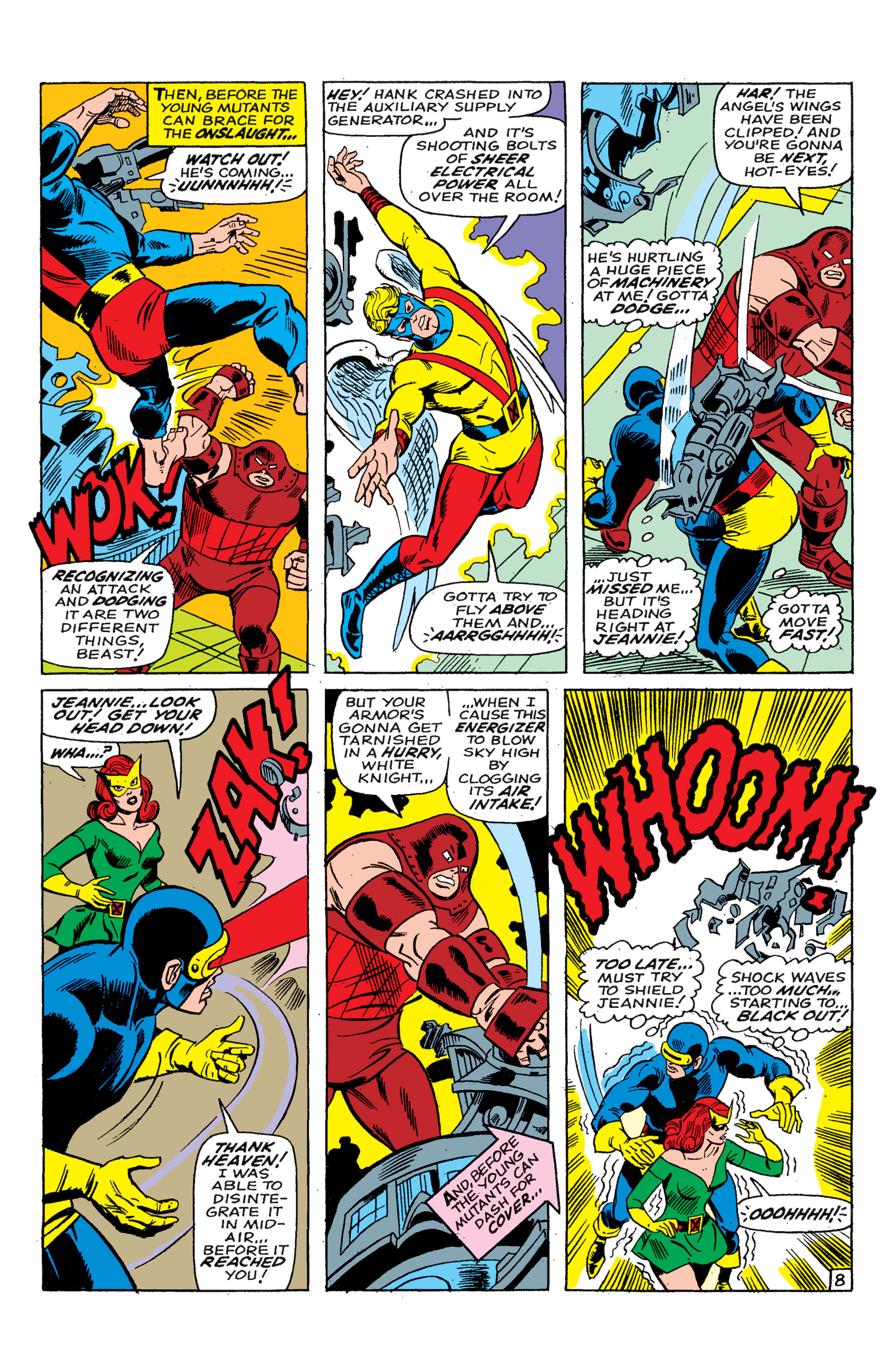Read online Uncanny X-Men (1963) comic -  Issue #46 - 9