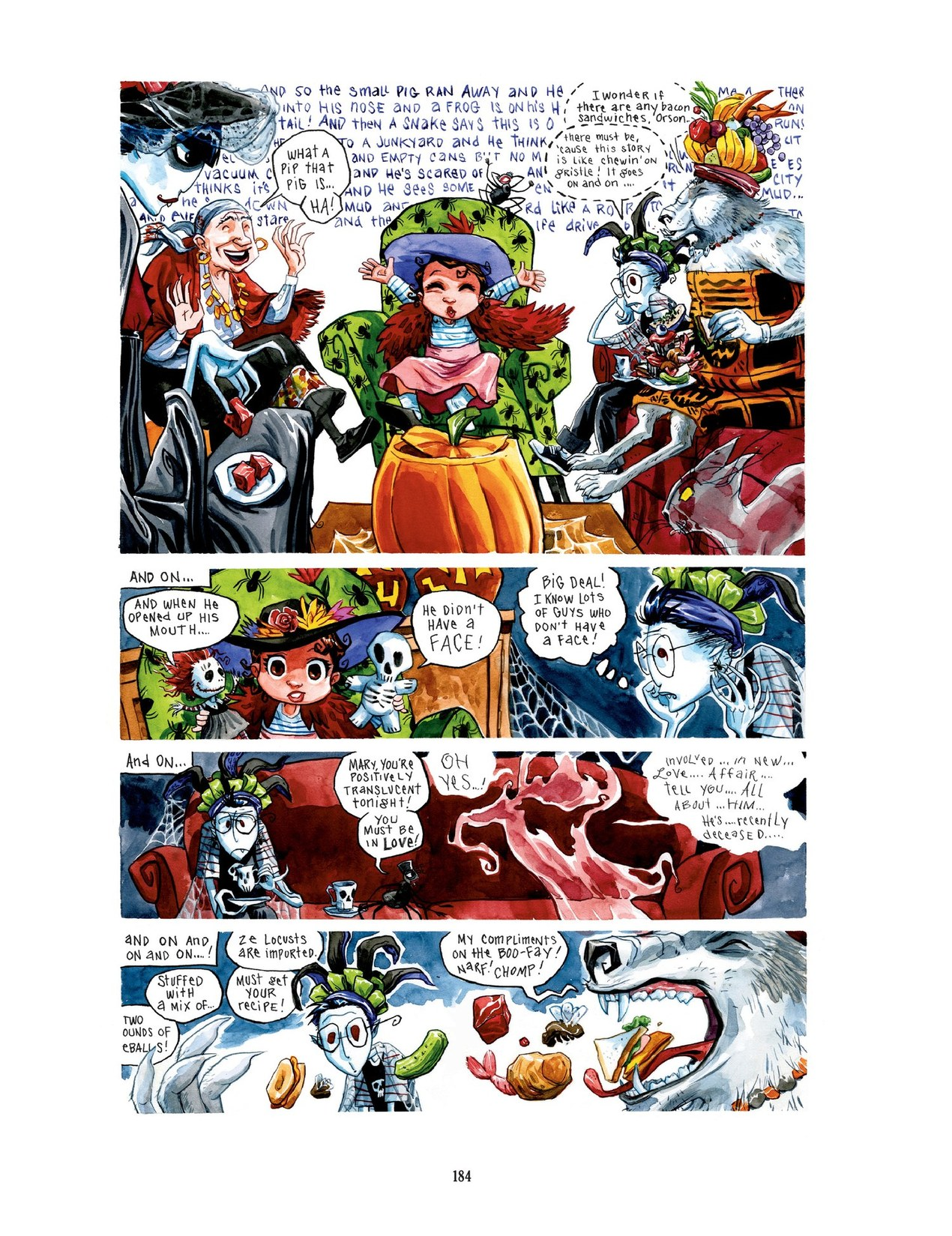 Read online Scary Godmother comic -  Issue # TPB - 184