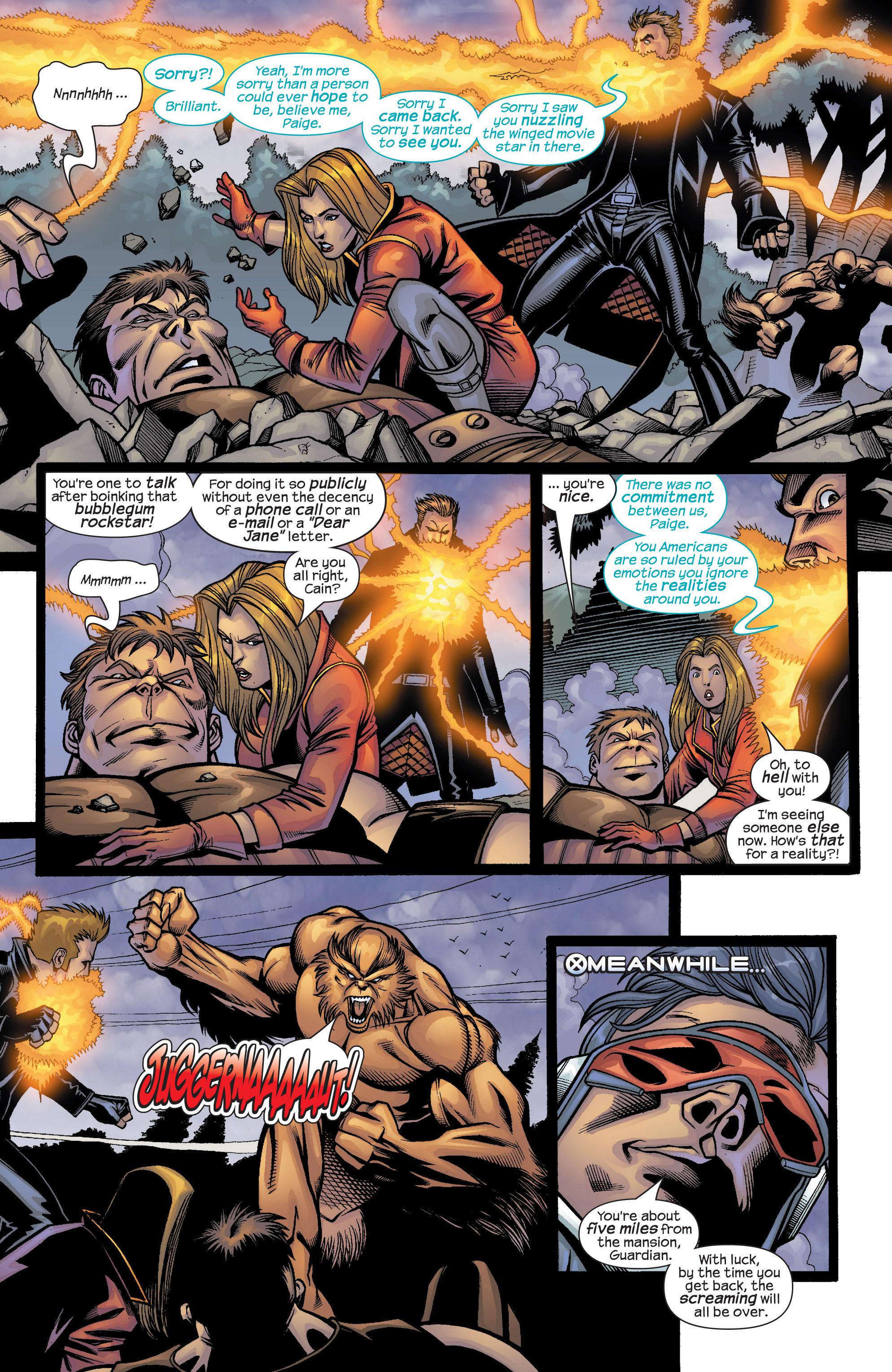 Read online Uncanny X-Men (1963) comic -  Issue #422 - 29