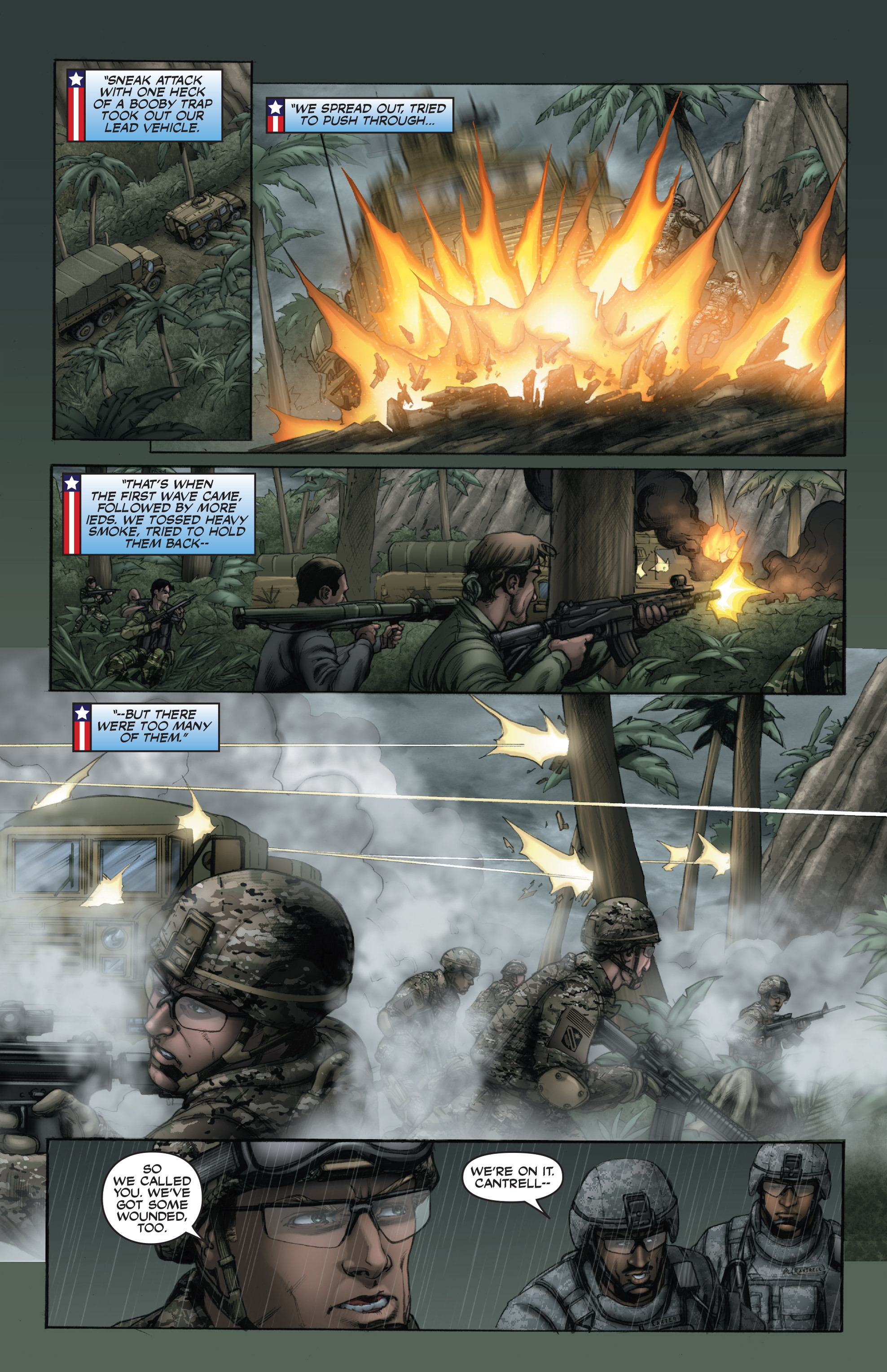 Read online America's Army comic -  Issue #15 - 14