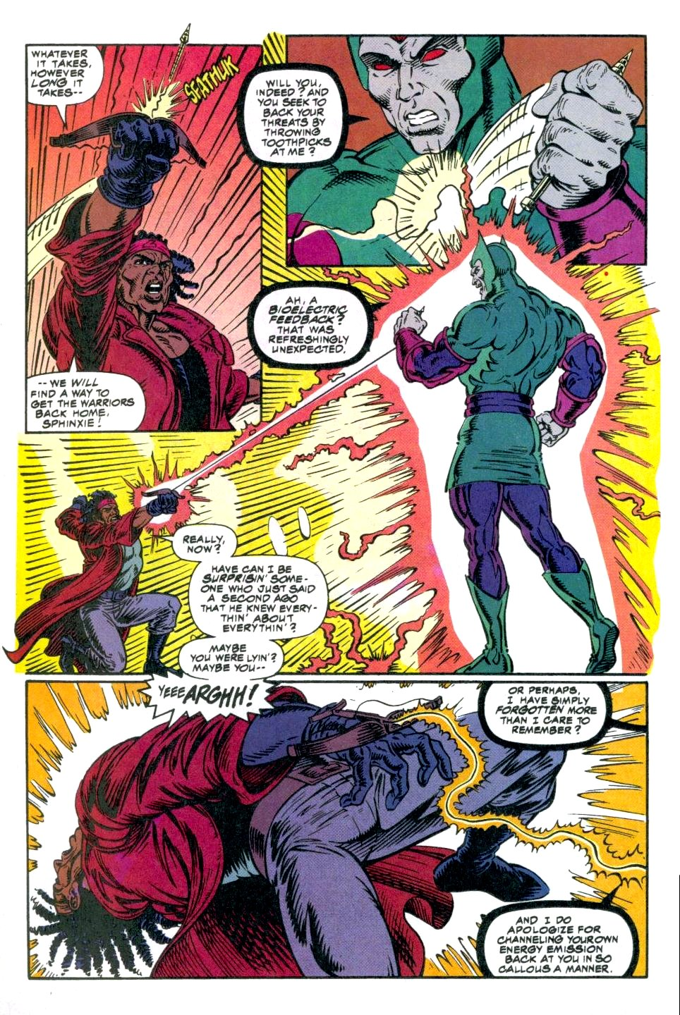 The New Warriors Issue #49 #53 - English 20
