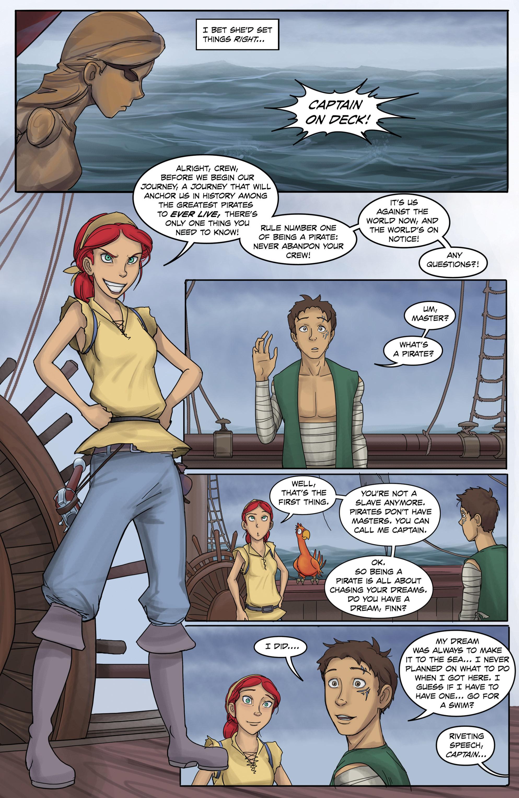 Read online Anne Bonnie comic -  Issue #3 - 4