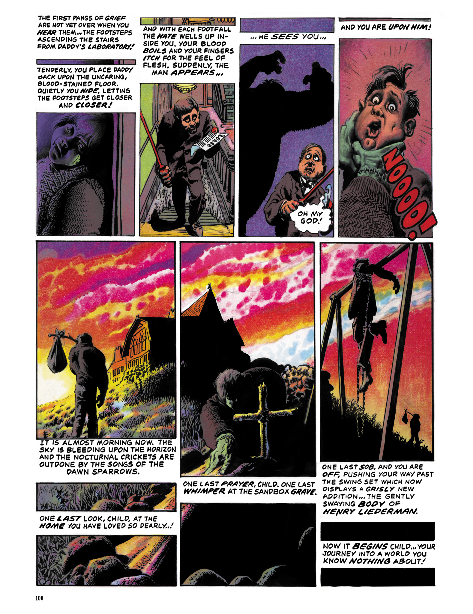 Read online Eerie Archives comic -  Issue # TPB 12 - 109