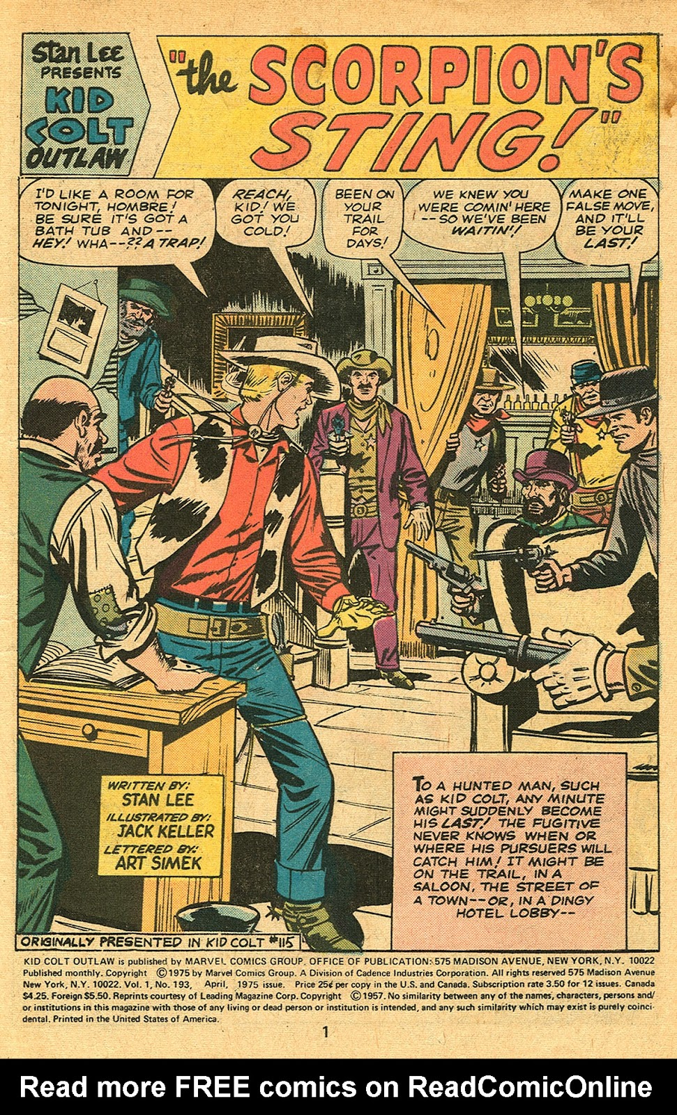 Kid Colt Outlaw issue 193 - Page 3