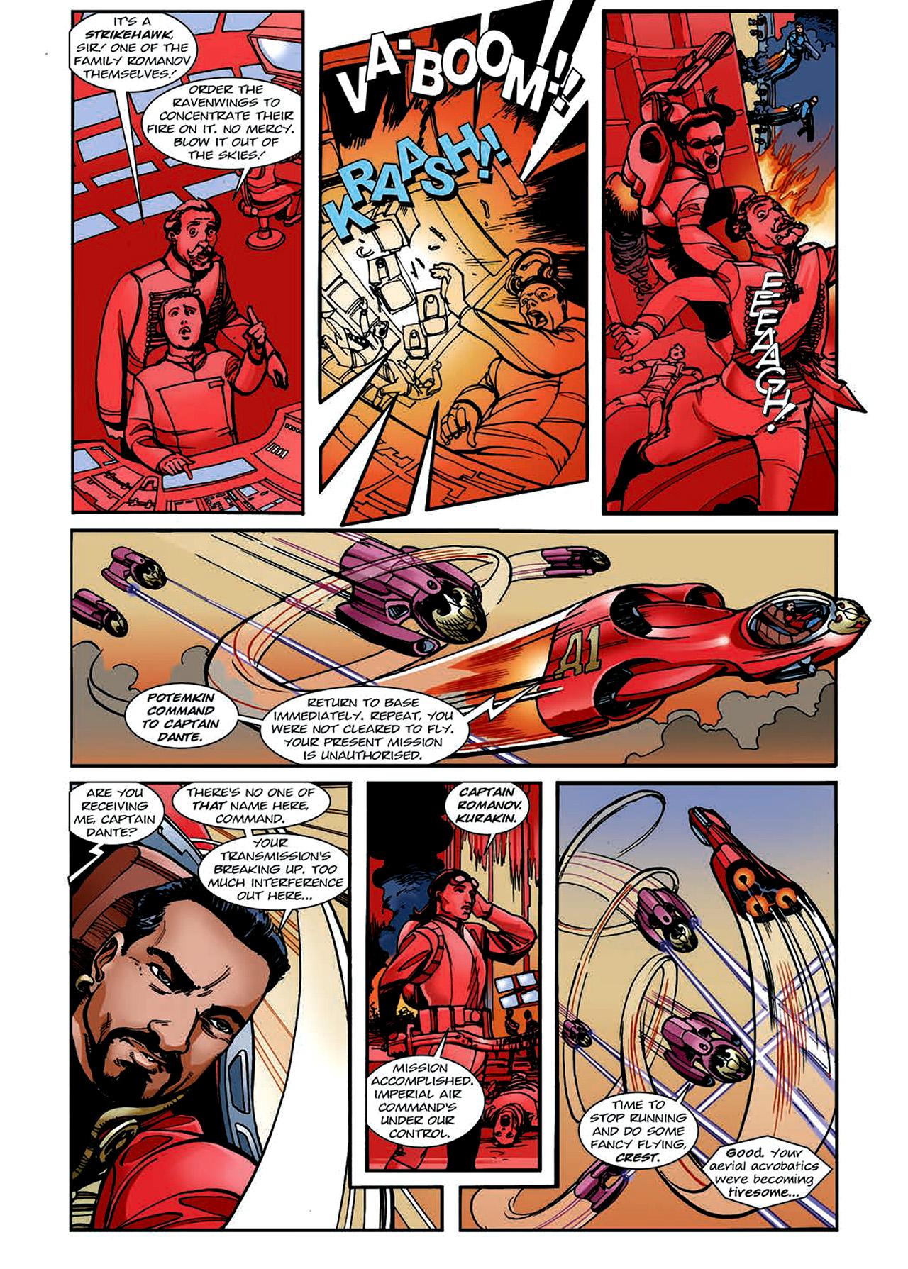 Read online Nikolai Dante comic -  Issue # TPB 4 - 130