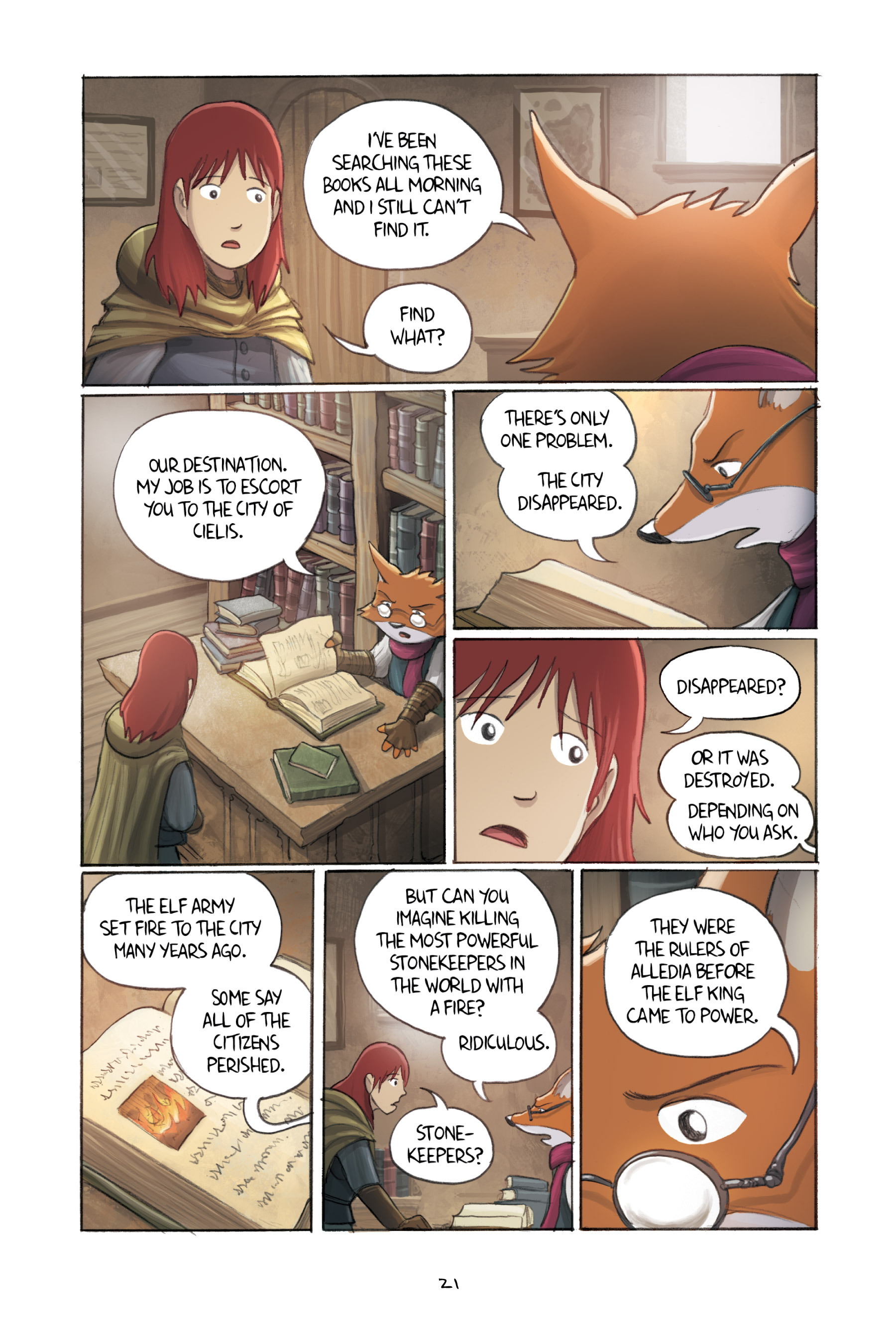 Read online Amulet comic -  Issue #3 - 22