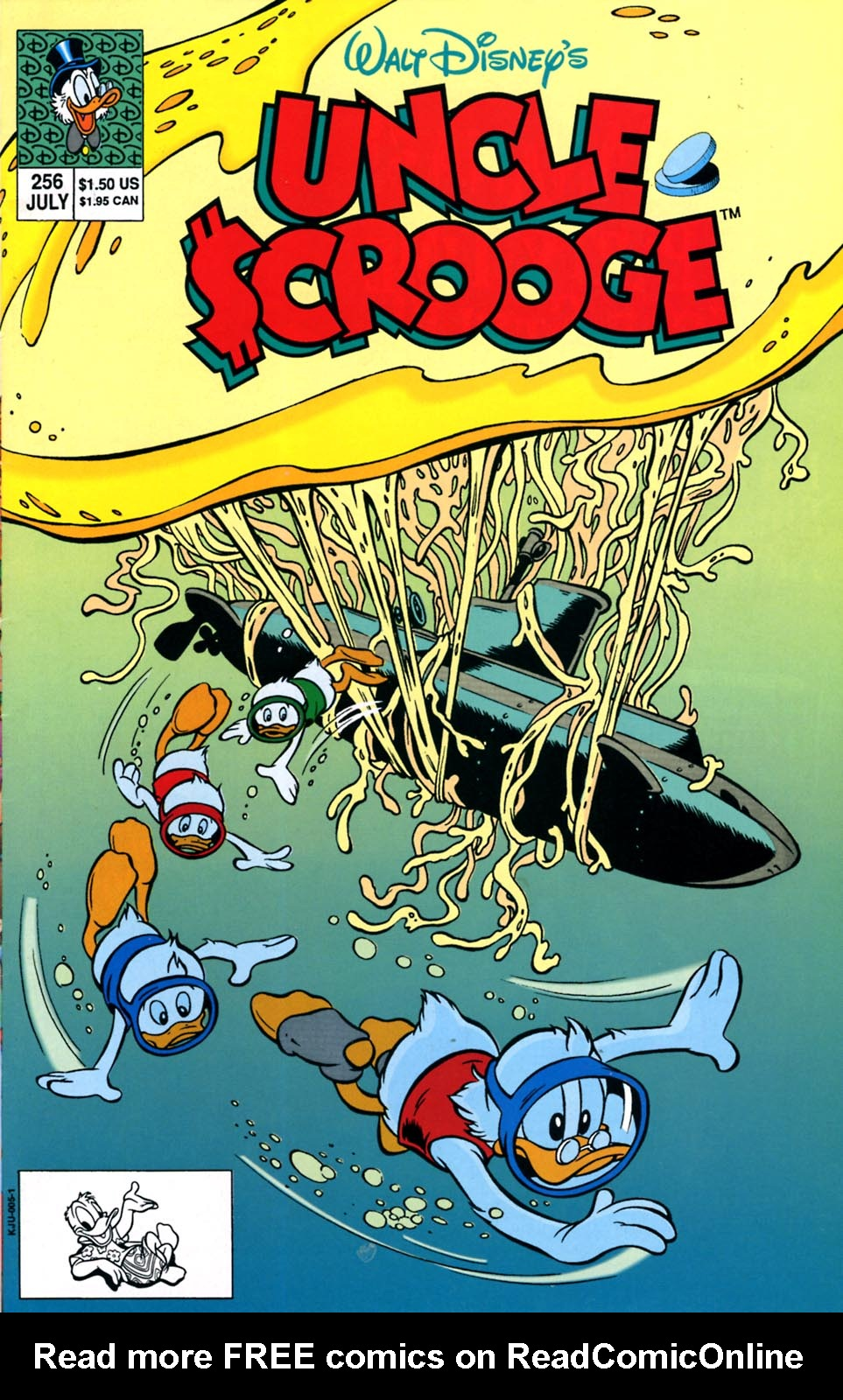 Read online Uncle Scrooge (1953) comic -  Issue #256 - 1