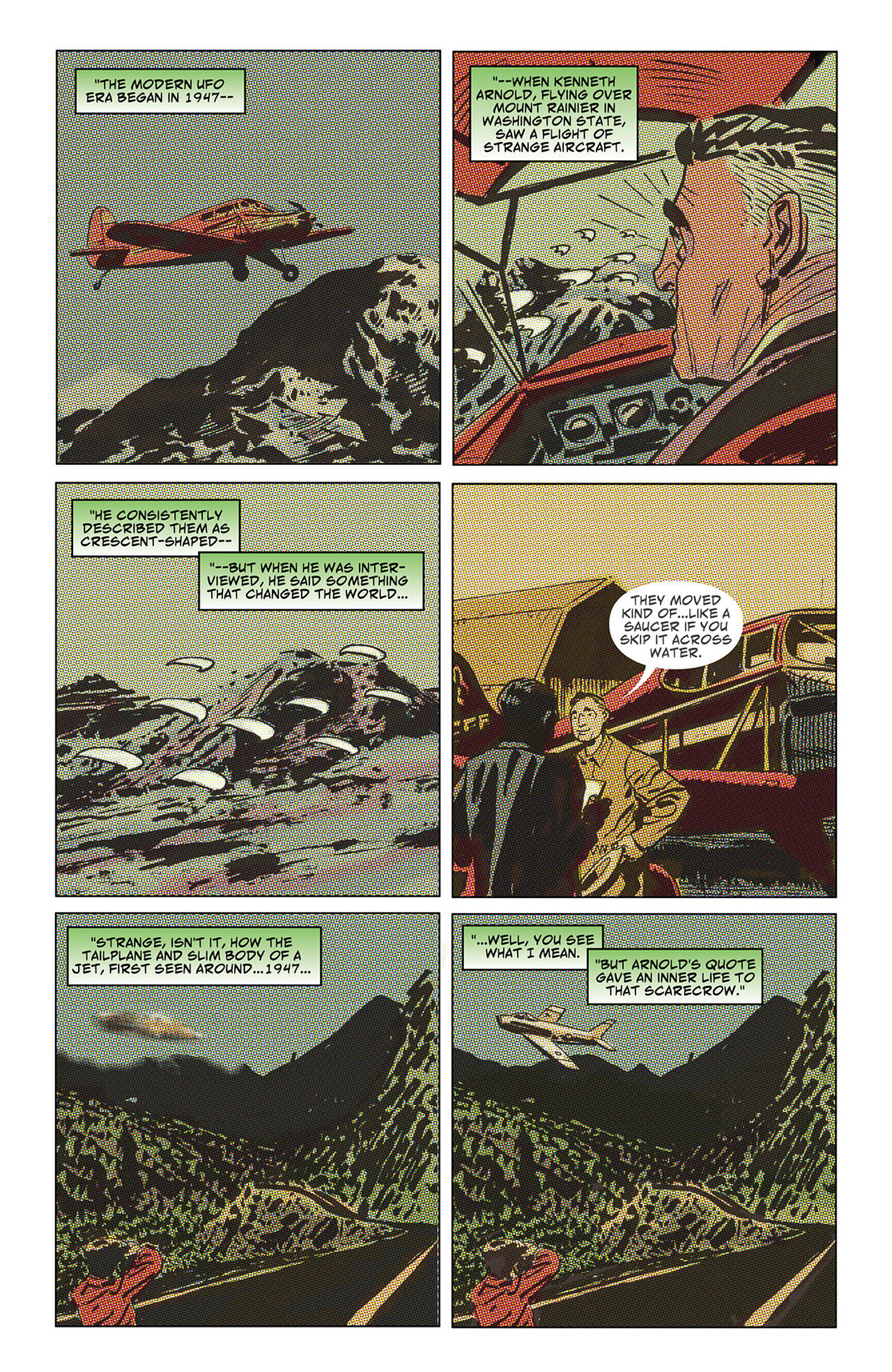 Read online Saucer Country comic -  Issue #6 - 6