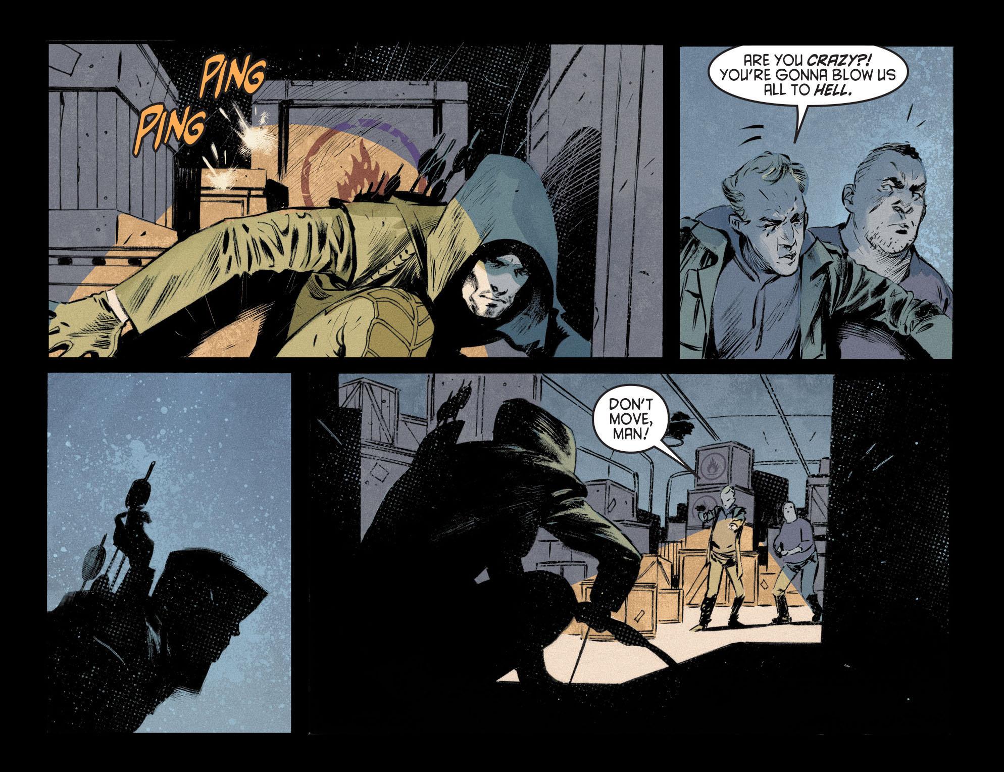 Read online Arrow [II] comic -  Issue #12 - 17