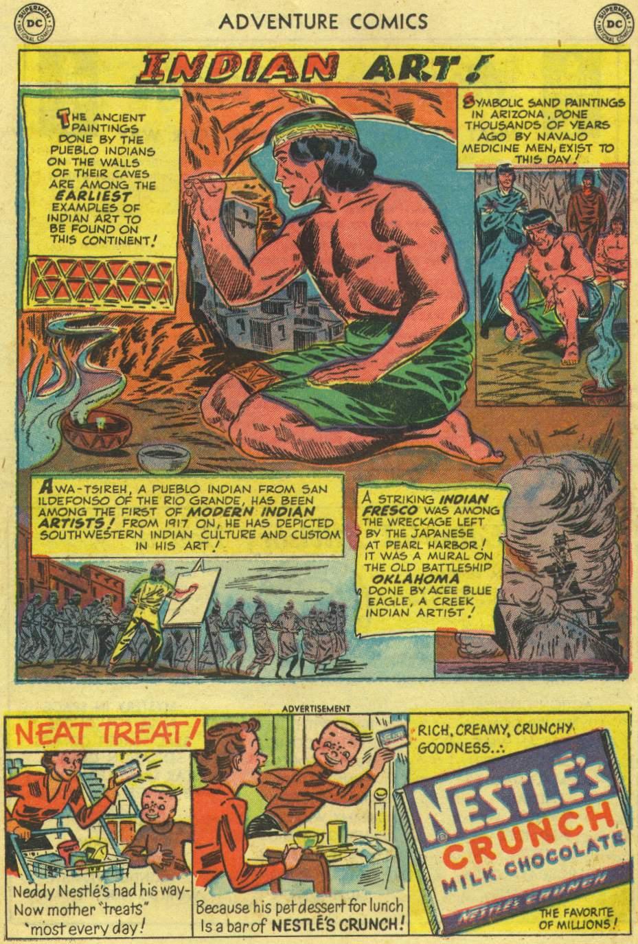 Read online Adventure Comics (1938) comic -  Issue #167 - 37