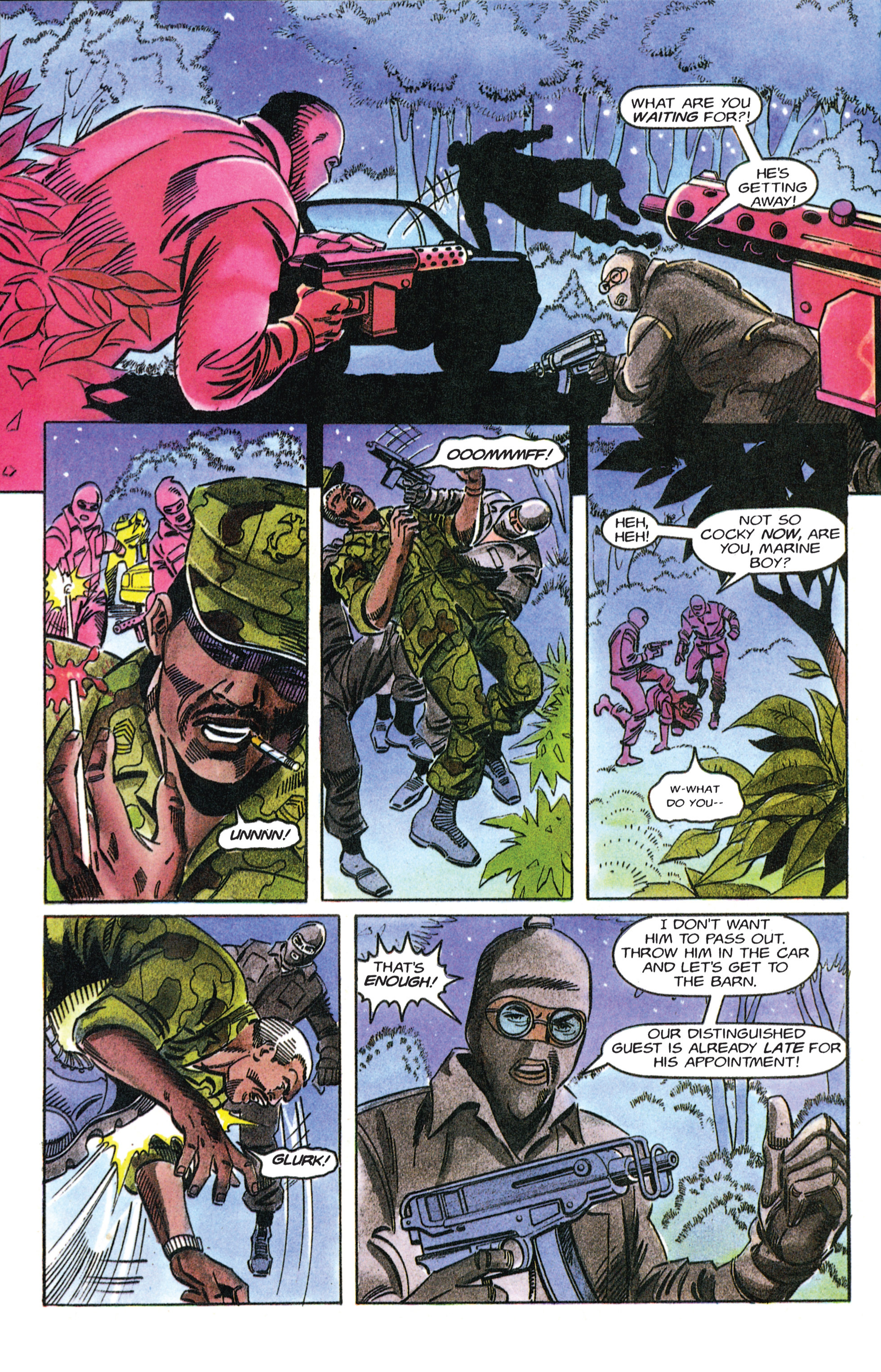 Read online Armorines comic -  Issue #12 - 6