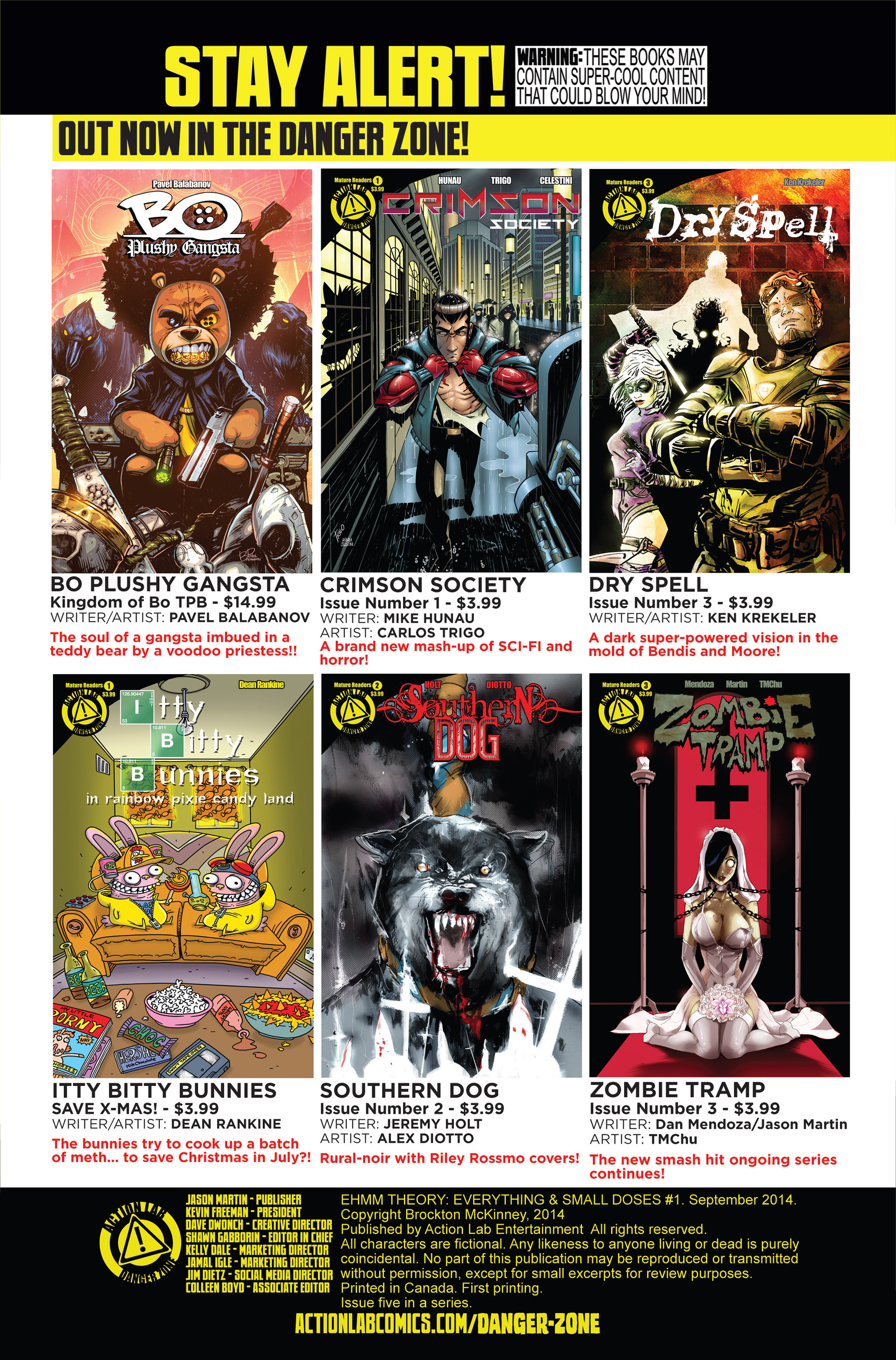 Read online Ehmm Theory: Everything & Small Doses comic -  Issue #1 - 31