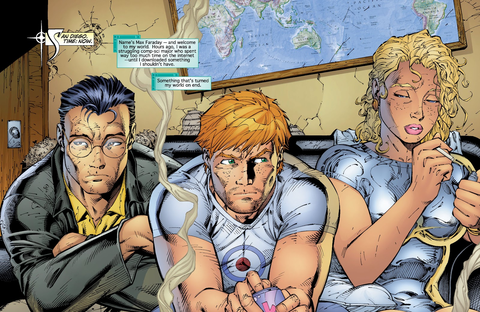 Read online Divine Right comic -  Issue # _TPB The Adventures of Max Faraday (Part 2) - 2