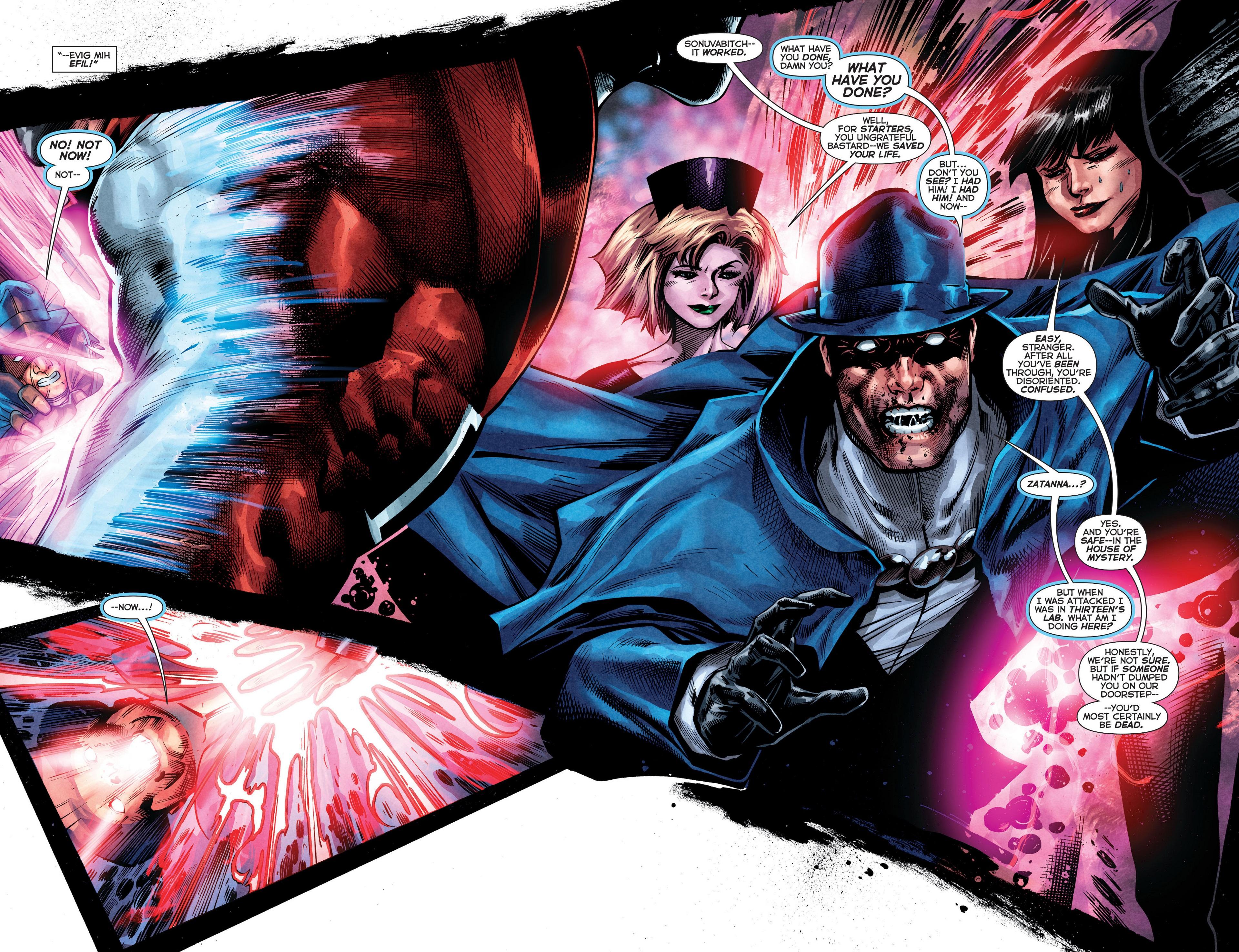 Read online Trinity of Sin: The Phantom Stranger comic -  Issue #8 - 19