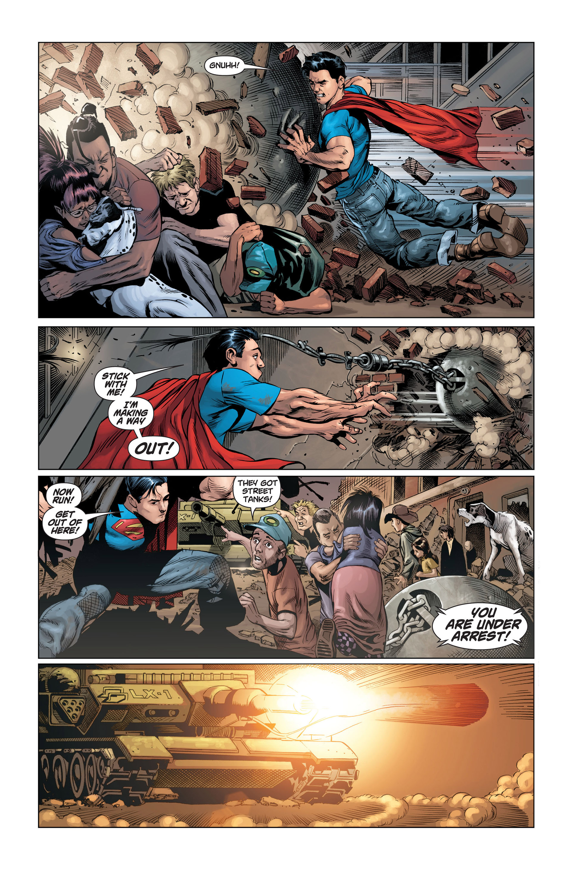 Read online Action Comics (2011) comic -  Issue #1 - 19