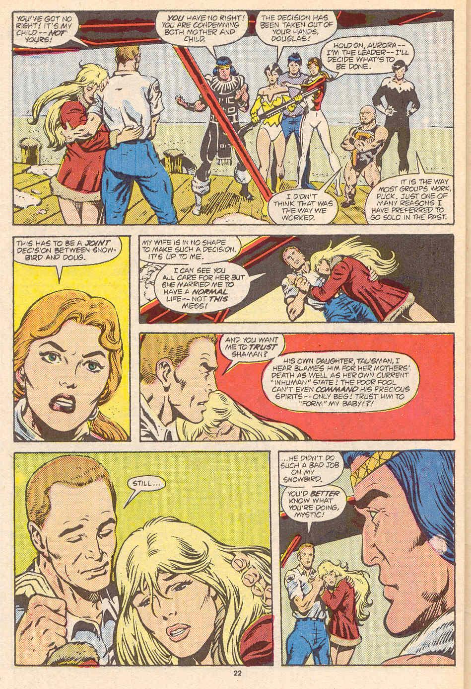 Read online Alpha Flight (1983) comic -  Issue #36 - 24