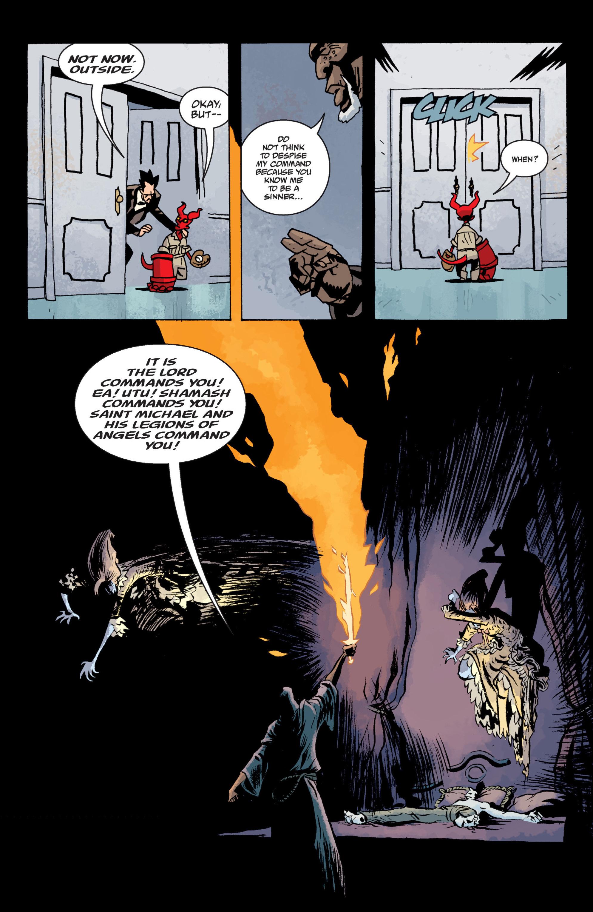 Read online B.P.R.D. (2003) comic -  Issue # TPB 13 - 123