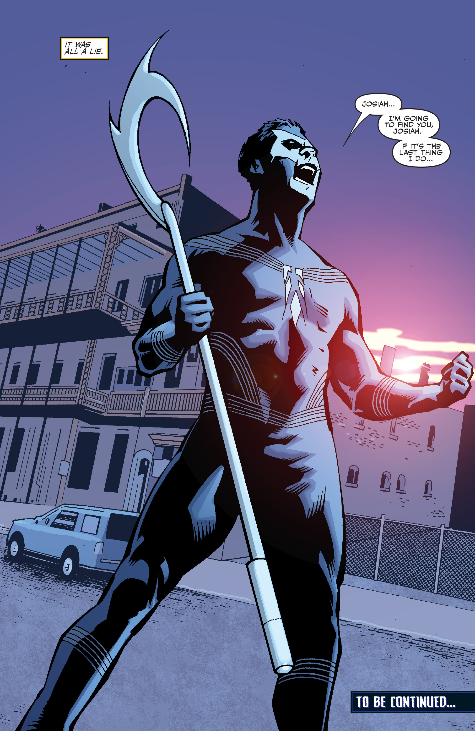 Read online Shadowman: End Times comic -  Issue #1 - 27