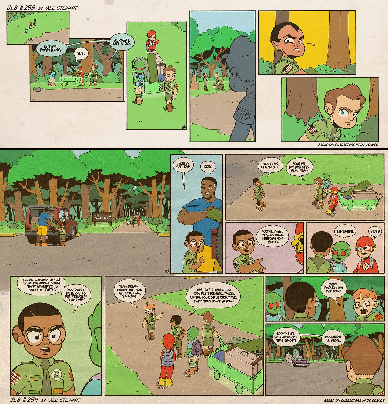 Read online JL8 – The Complete Collection comic -  Issue # TPB (Part 2) - 66