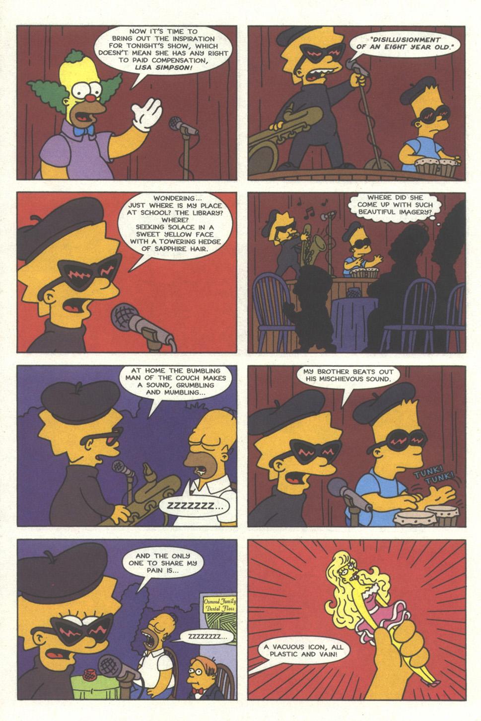 Read online Simpsons Comics comic -  Issue #32 - 11