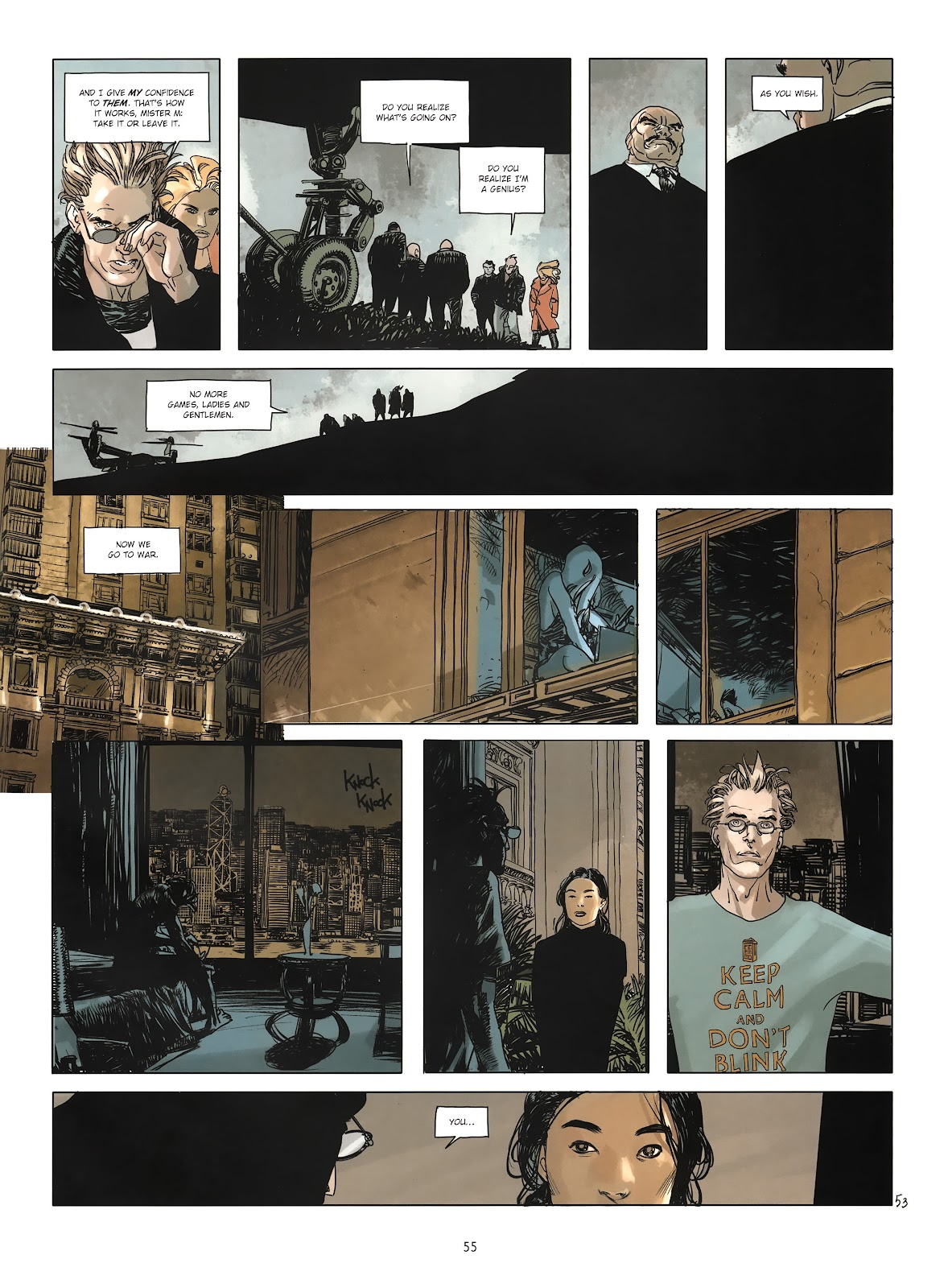 Read online Cutting Edge (2013) comic -  Issue #3 - 51