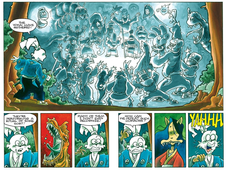 Read online Usagi Yojimbo: Yokai comic -  Issue # Full - 37