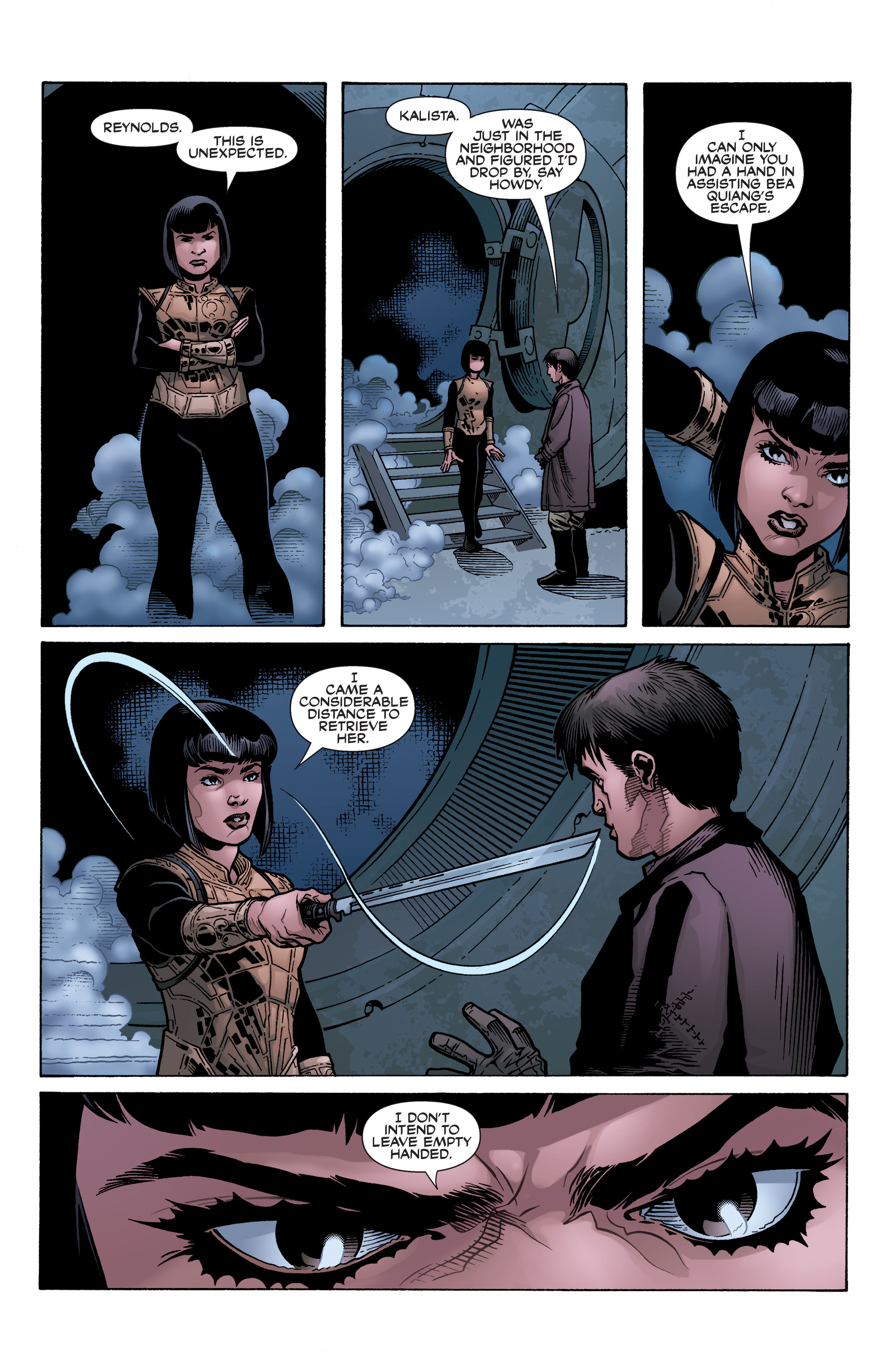 Read online Serenity: Firefly Class 03-K64 – No Power in the 'Verse comic -  Issue #5 - 13