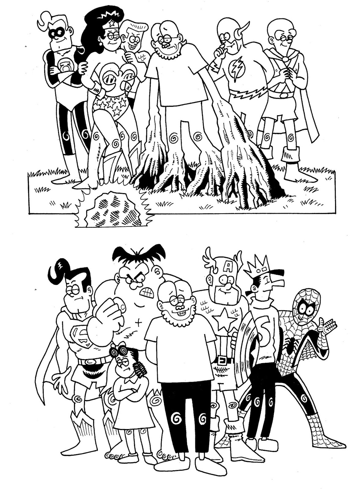 Read online The Nearly Complete Essential Hembeck Archives Omnibus comic -  Issue # TPB (Part 9) - 46