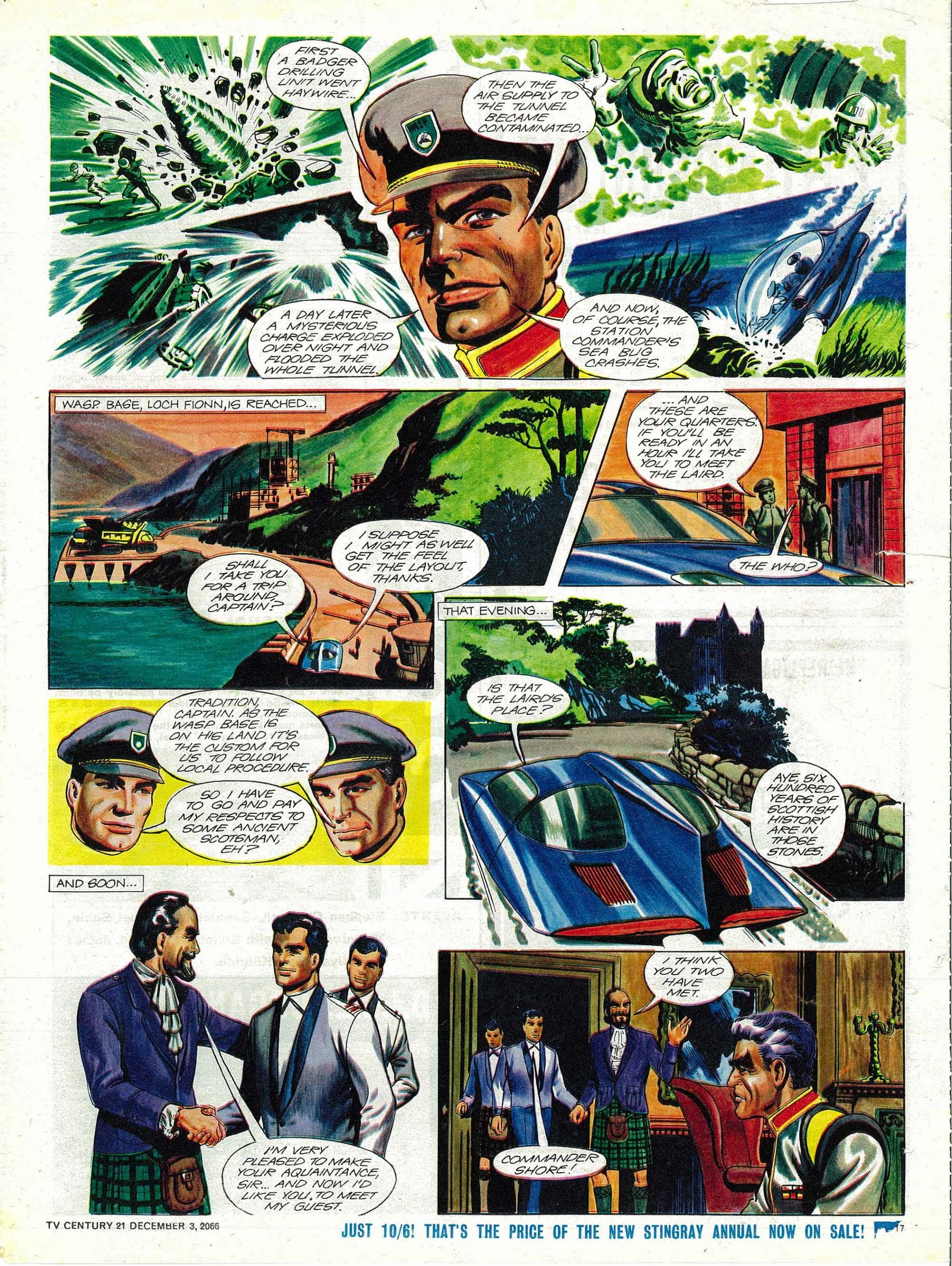 Read online TV Century 21 (TV 21) comic -  Issue #98 - 16