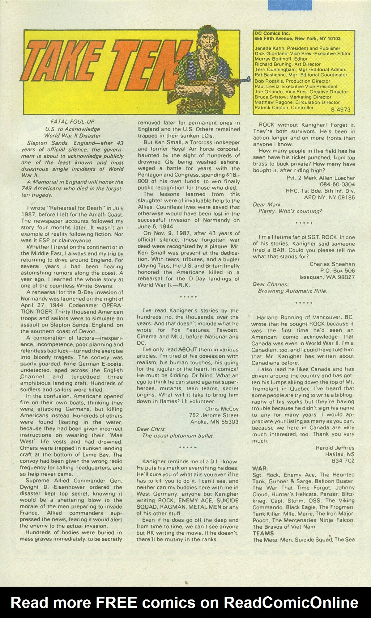 Read online Sgt. Rock comic -  Issue #422 - 32