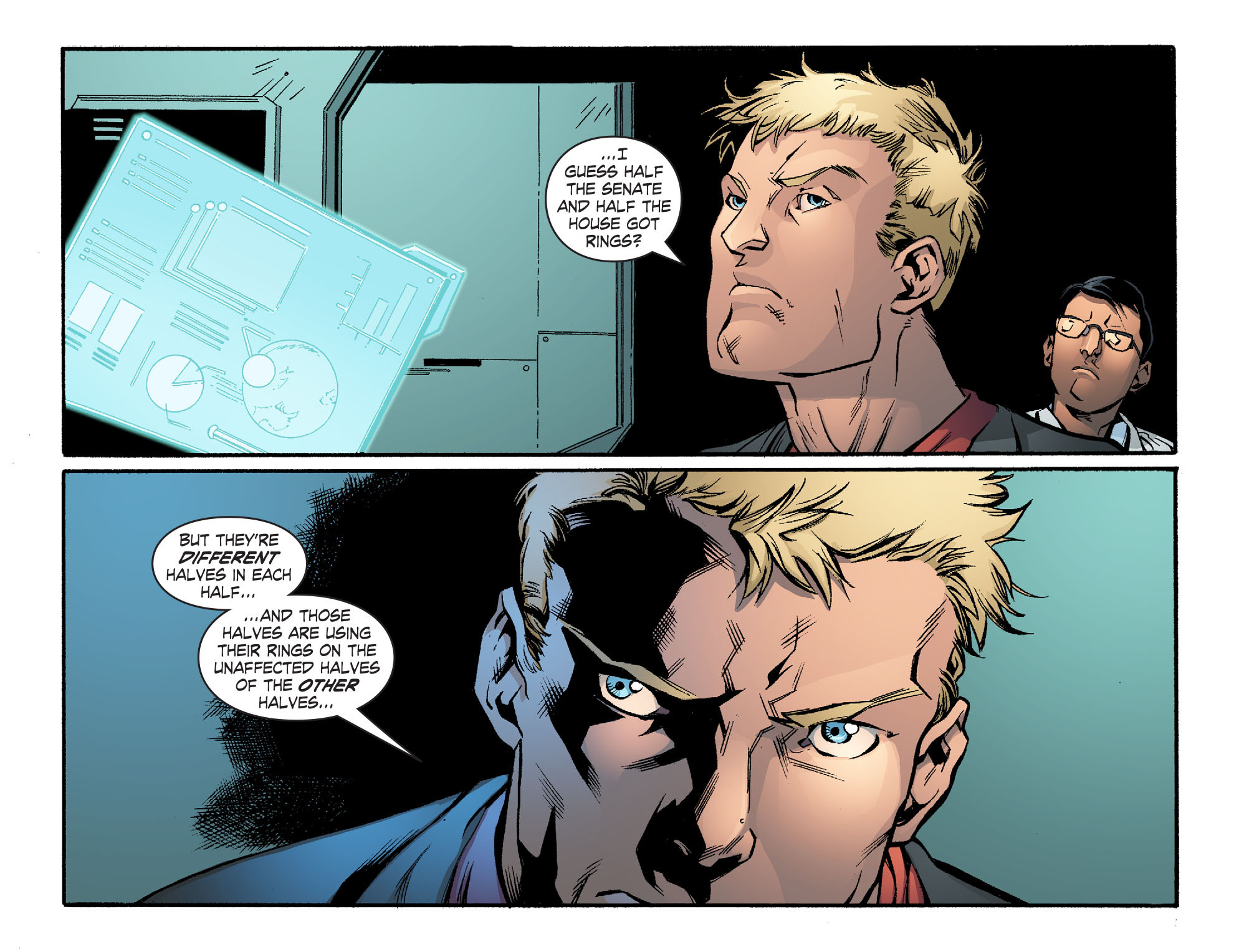 Read online Smallville: Lantern [I] comic -  Issue #10 - 4