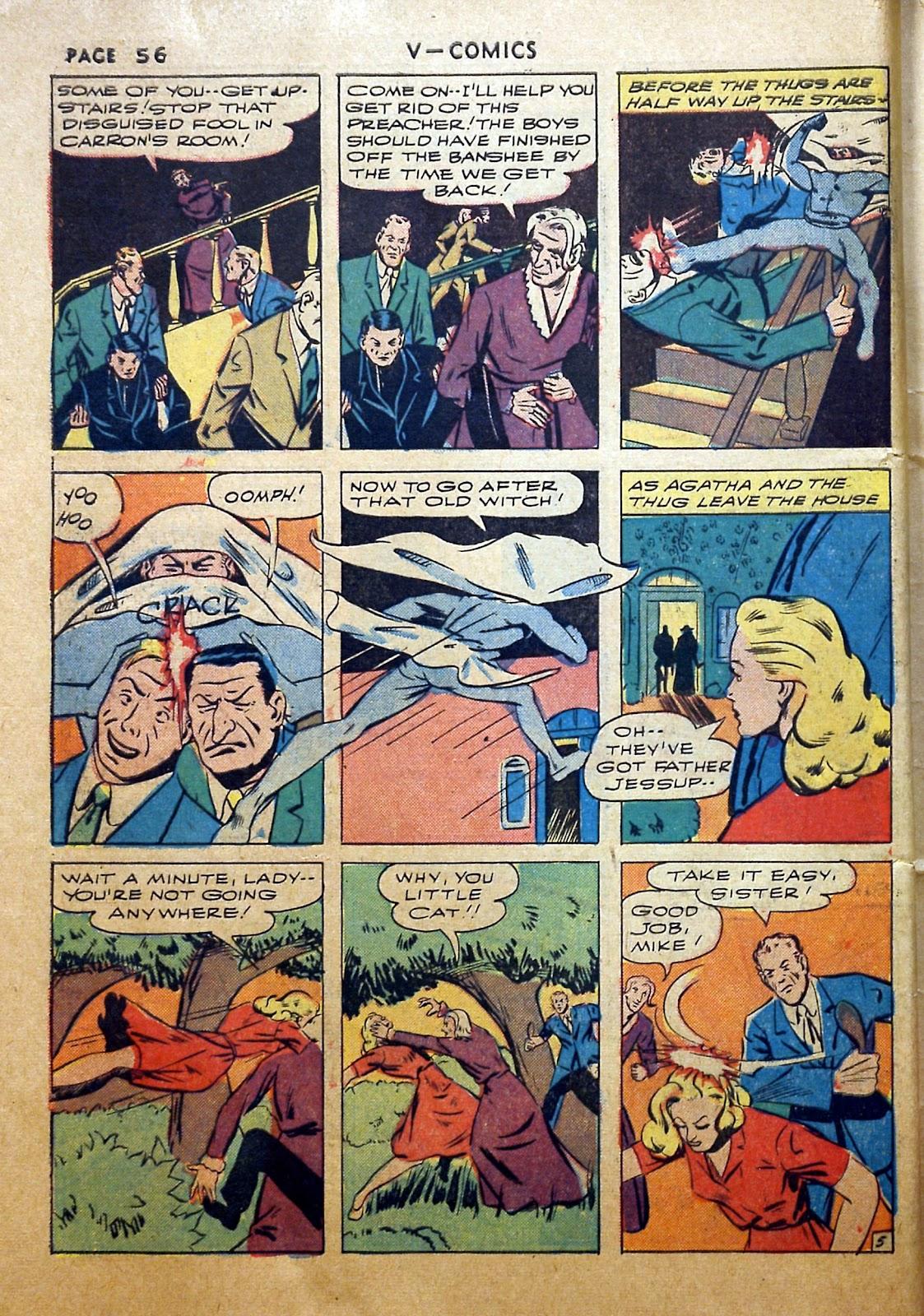 Read online V...- Comics comic -  Issue #2 - 57