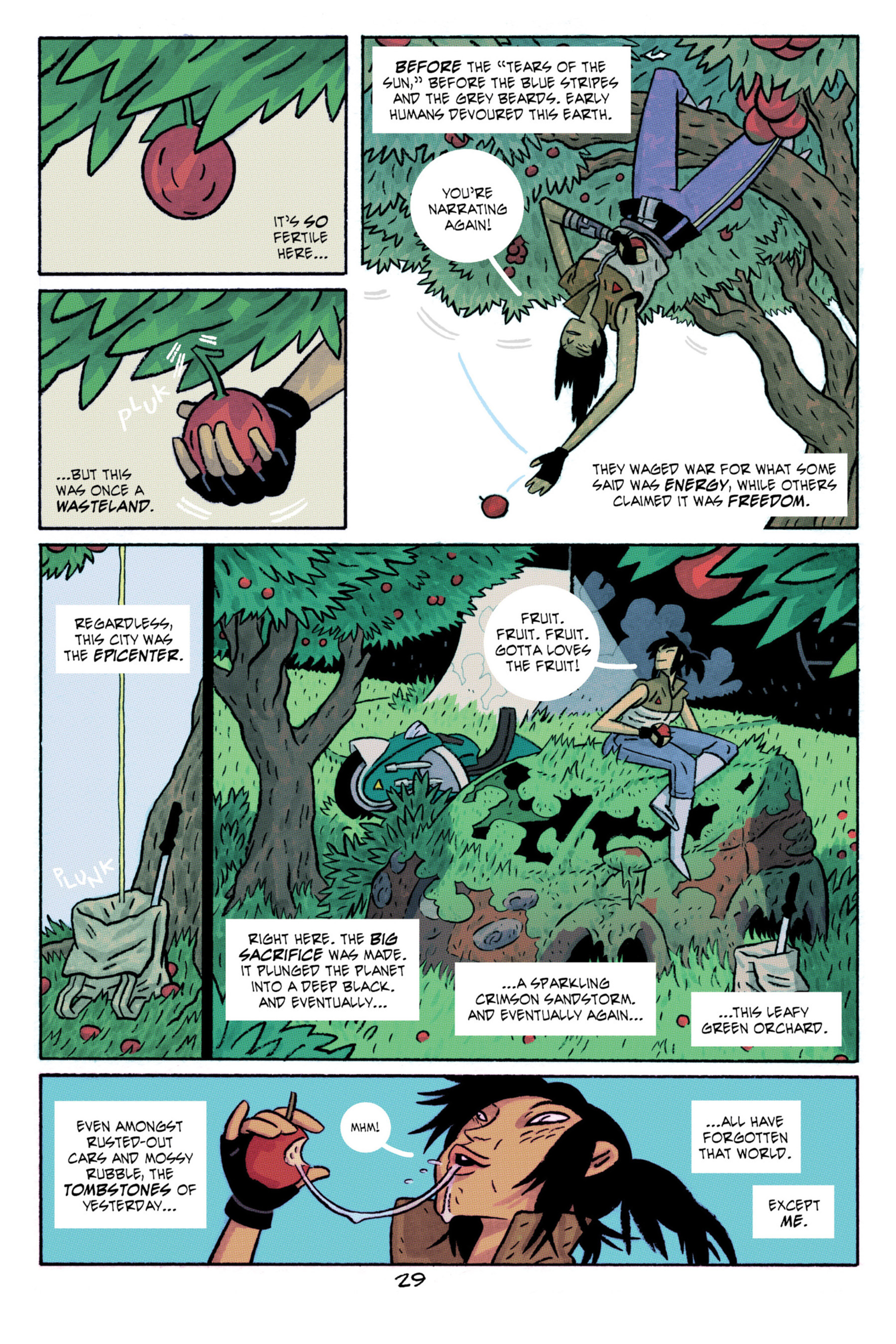Read online ApocalyptiGirl: An Aria for the End Times comic -  Issue #ApocalyptiGirl: An Aria for the End Times Full - 37