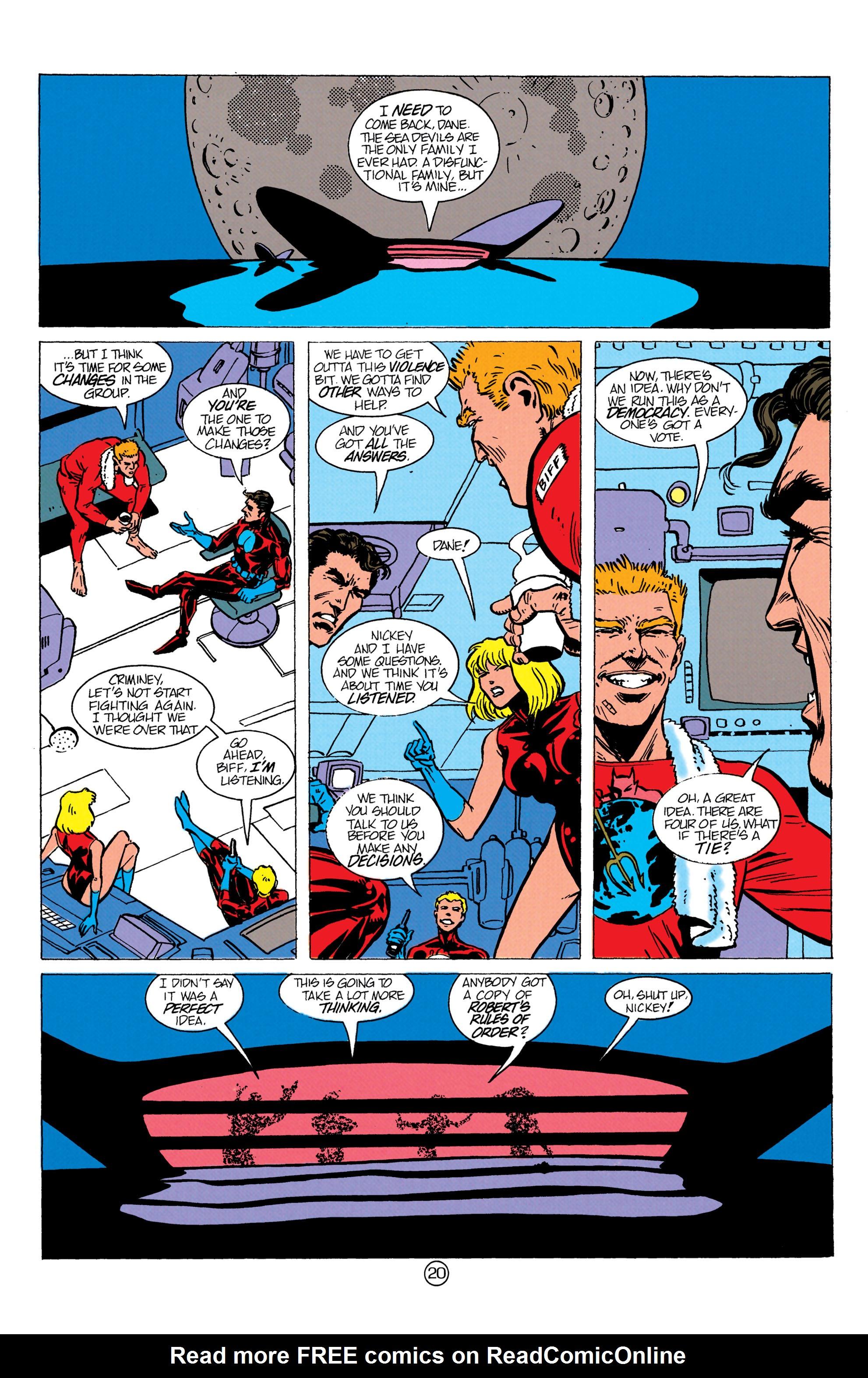 Read online Aquaman (1991) comic -  Issue #10 - 21