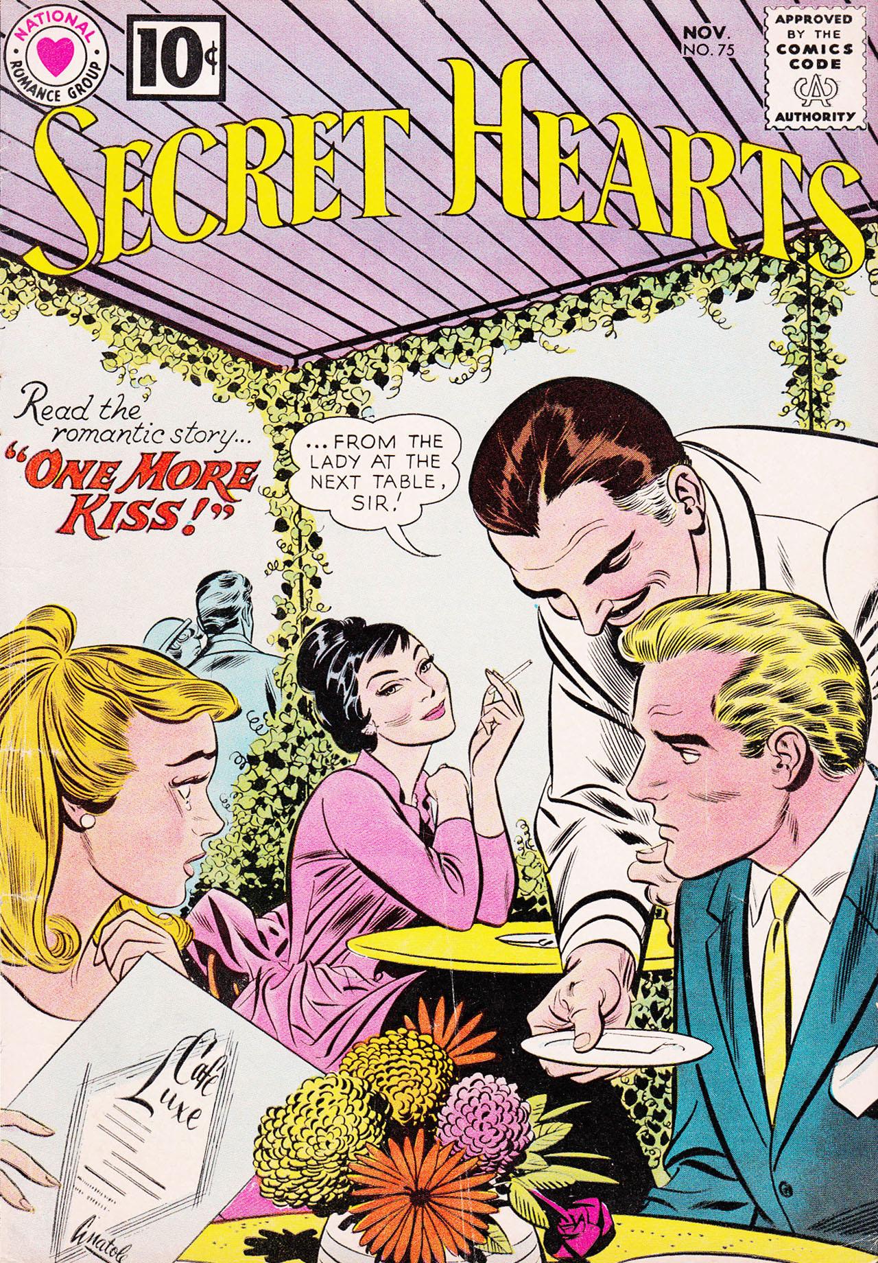 Read online Secret Hearts comic -  Issue #75 - 1