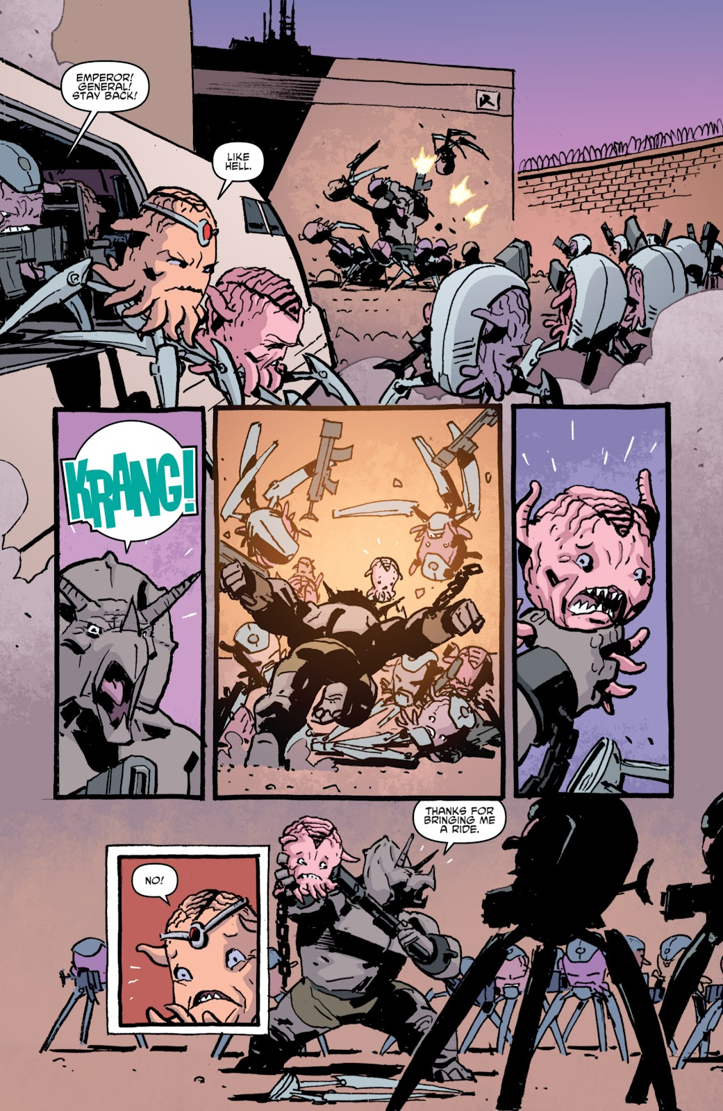 Read online Teenage Mutant Ninja Turtles: The IDW Collection comic -  Issue # TPB 4 (Part 1) - 85