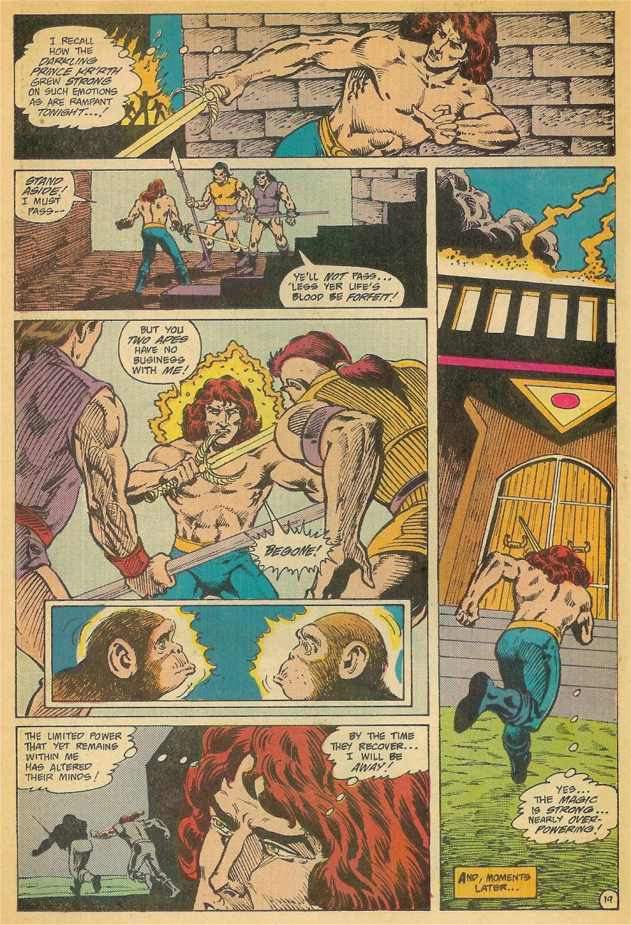 Read online Arion, Lord of Atlantis comic -  Issue #26 - 20