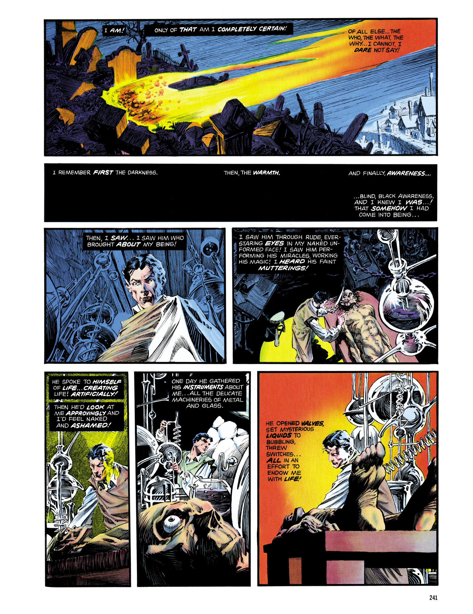 Read online Eerie Archives comic -  Issue # TPB 14 - 242