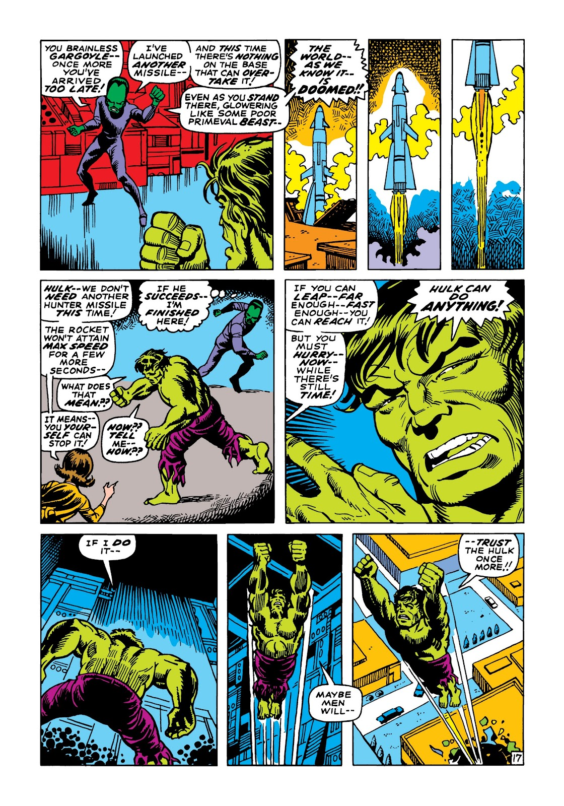 Read online Marvel Masterworks: The Incredible Hulk comic -  Issue # TPB 5 (Part 2) - 49
