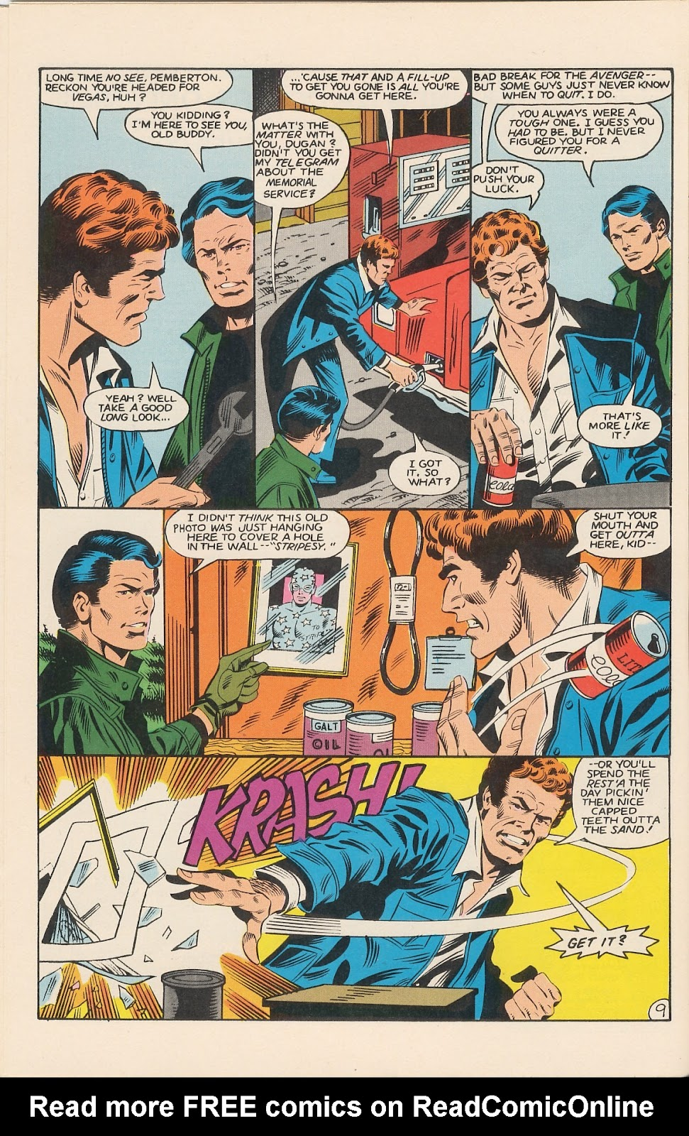 Infinity Inc. (1984) issue 11 - Page 14