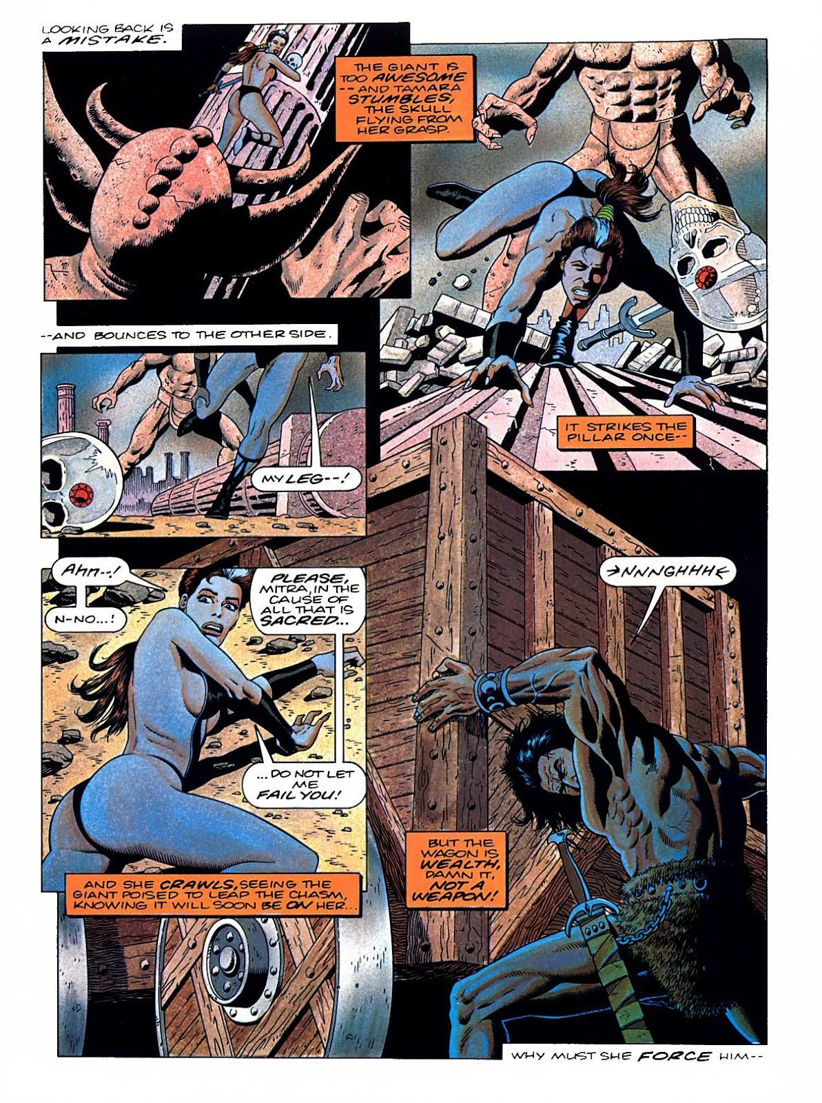 Read online Marvel Graphic Novel: Conan the Barbarian: The Skull of Set comic -  Issue # Full - 52