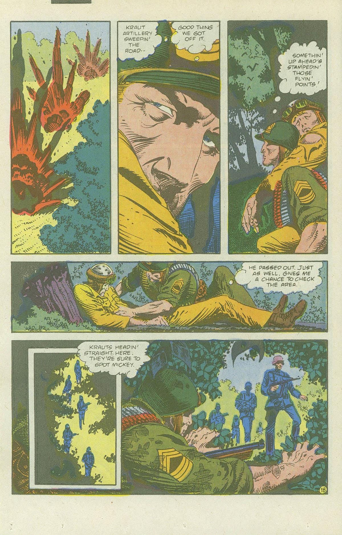 Read online Sgt. Rock comic -  Issue #419 - 24