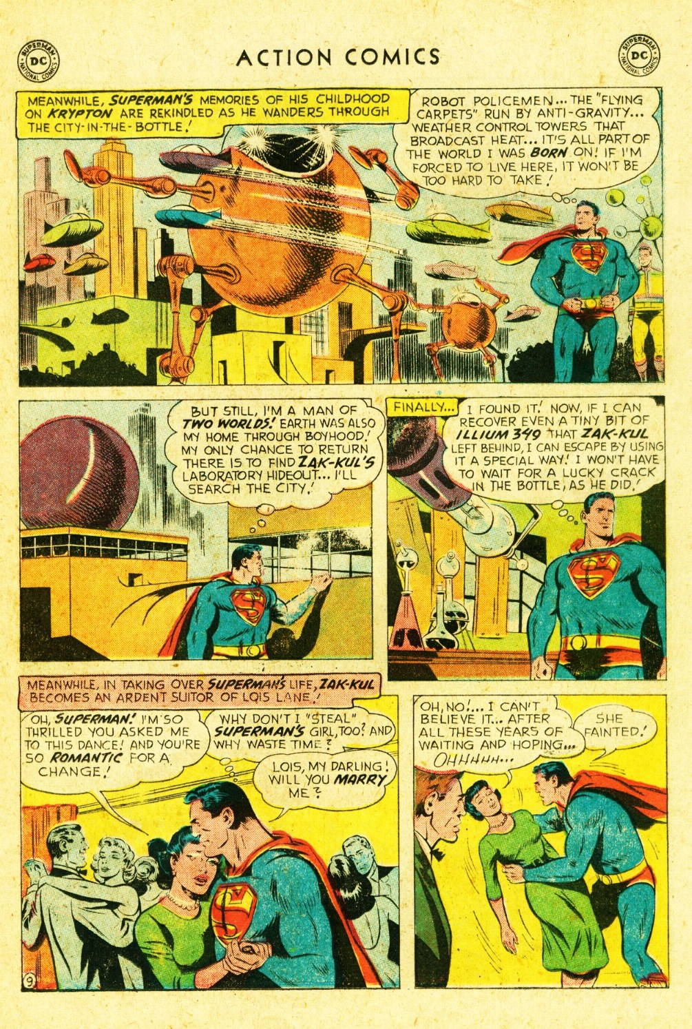 Read online Action Comics (1938) comic -  Issue #245 - 11