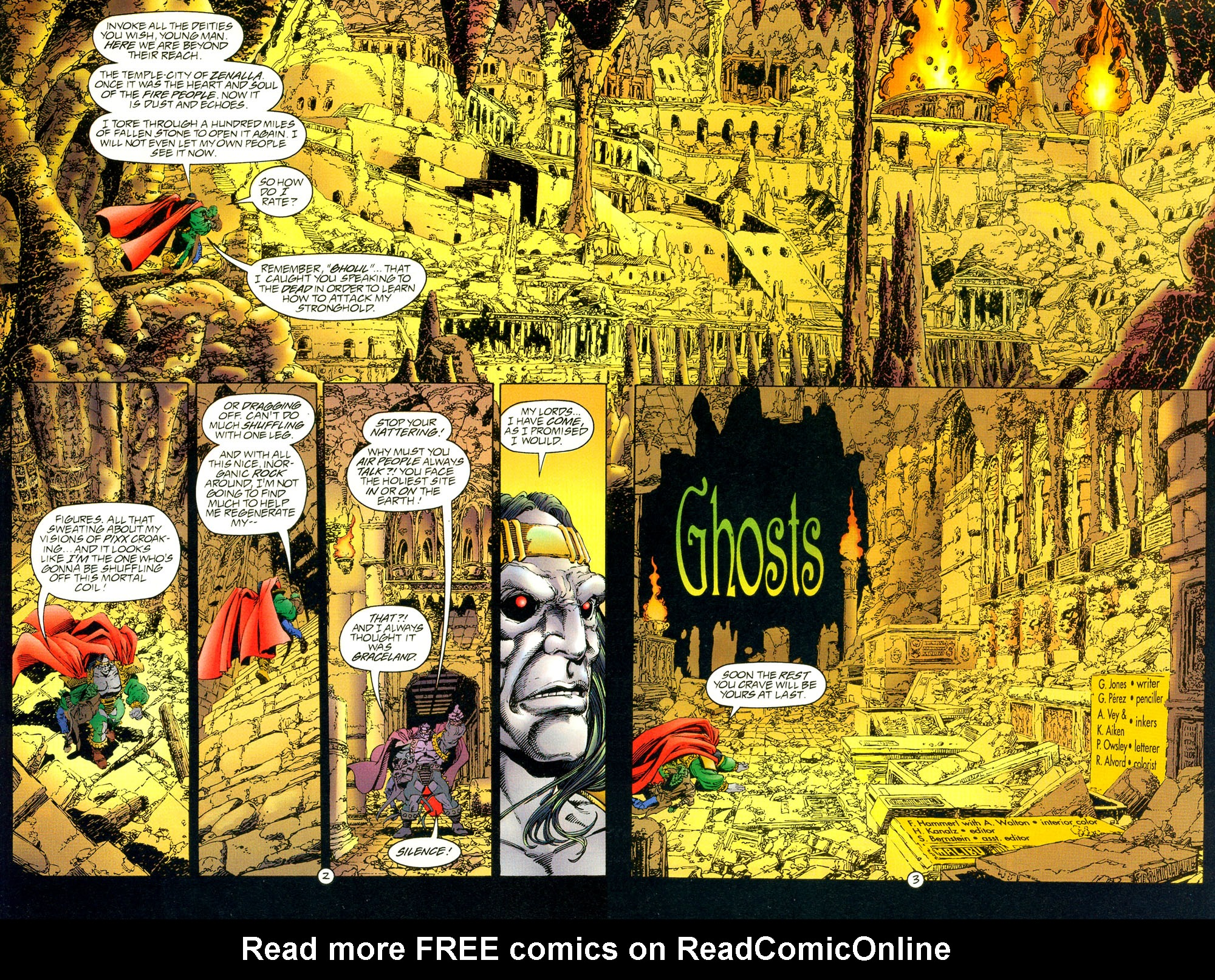 Read online UltraForce (1994) comic -  Issue #4 - 3