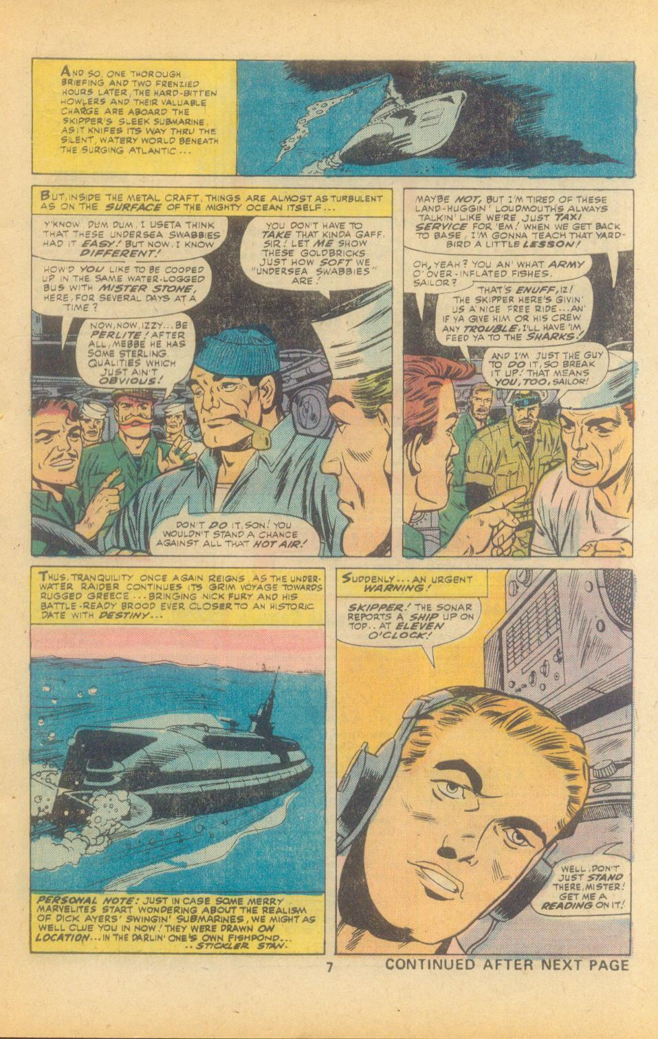 Read online Sgt. Fury comic -  Issue #135 - 9