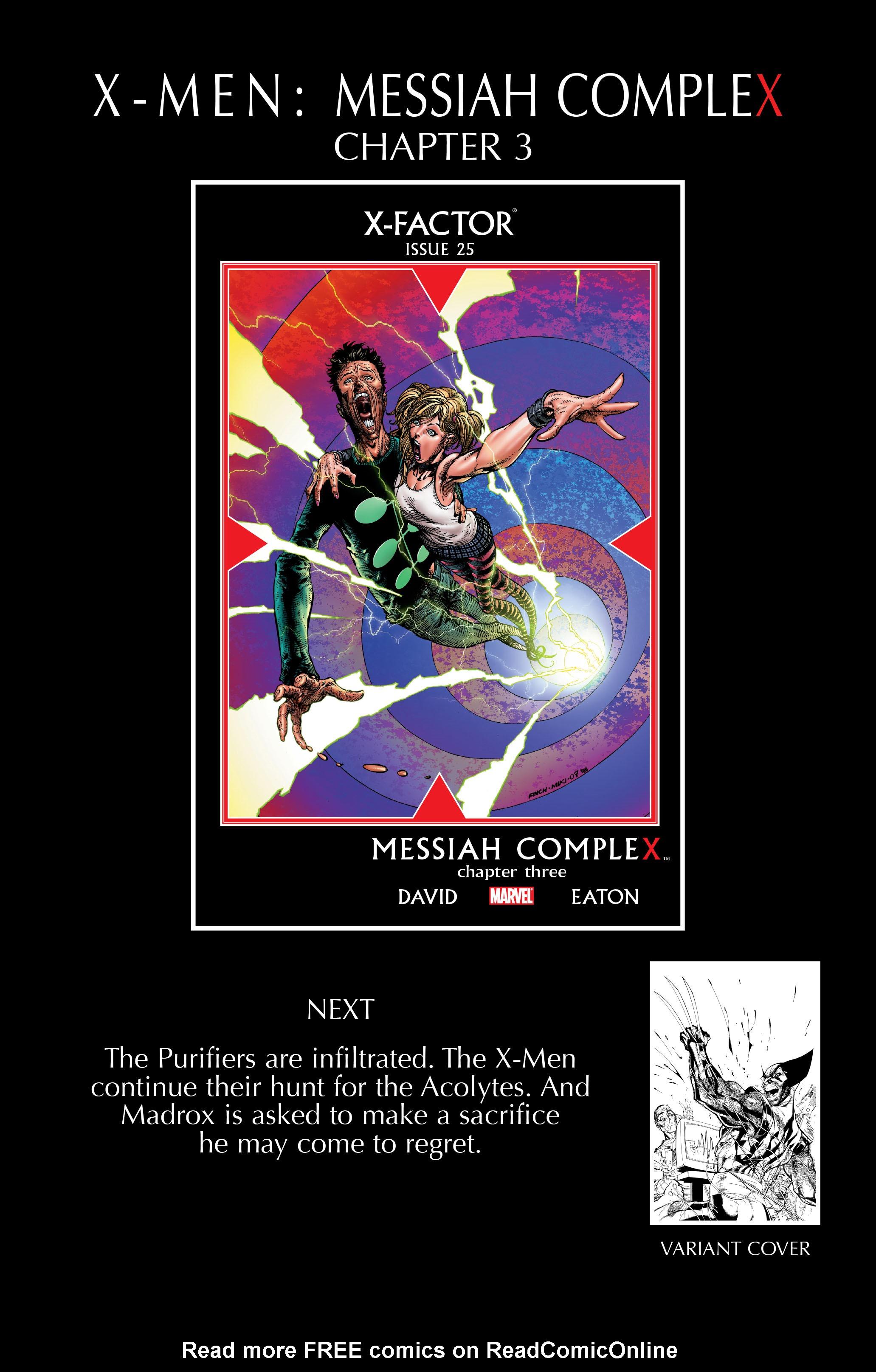 Read online Uncanny X-Men (1963) comic -  Issue #492 - 24