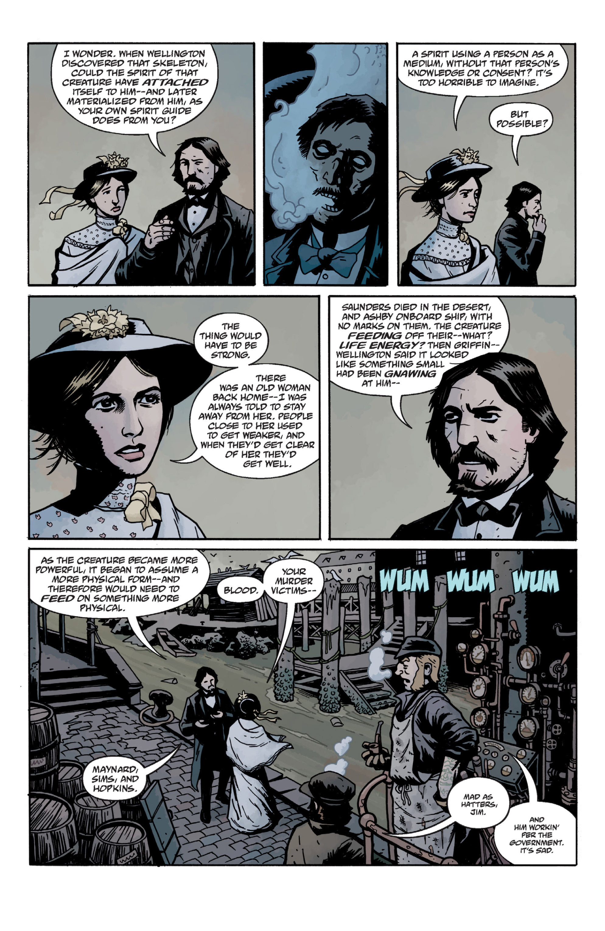 Read online Sir Edward Grey, Witchfinder: In the Service of Angels comic -  Issue # TPB - 63