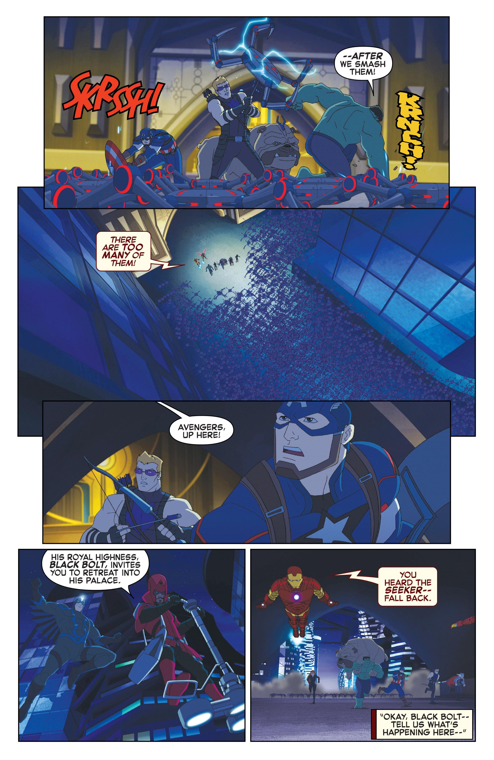 Read online Marvel Universe Avengers: Ultron Revolution comic -  Issue #10 - 4