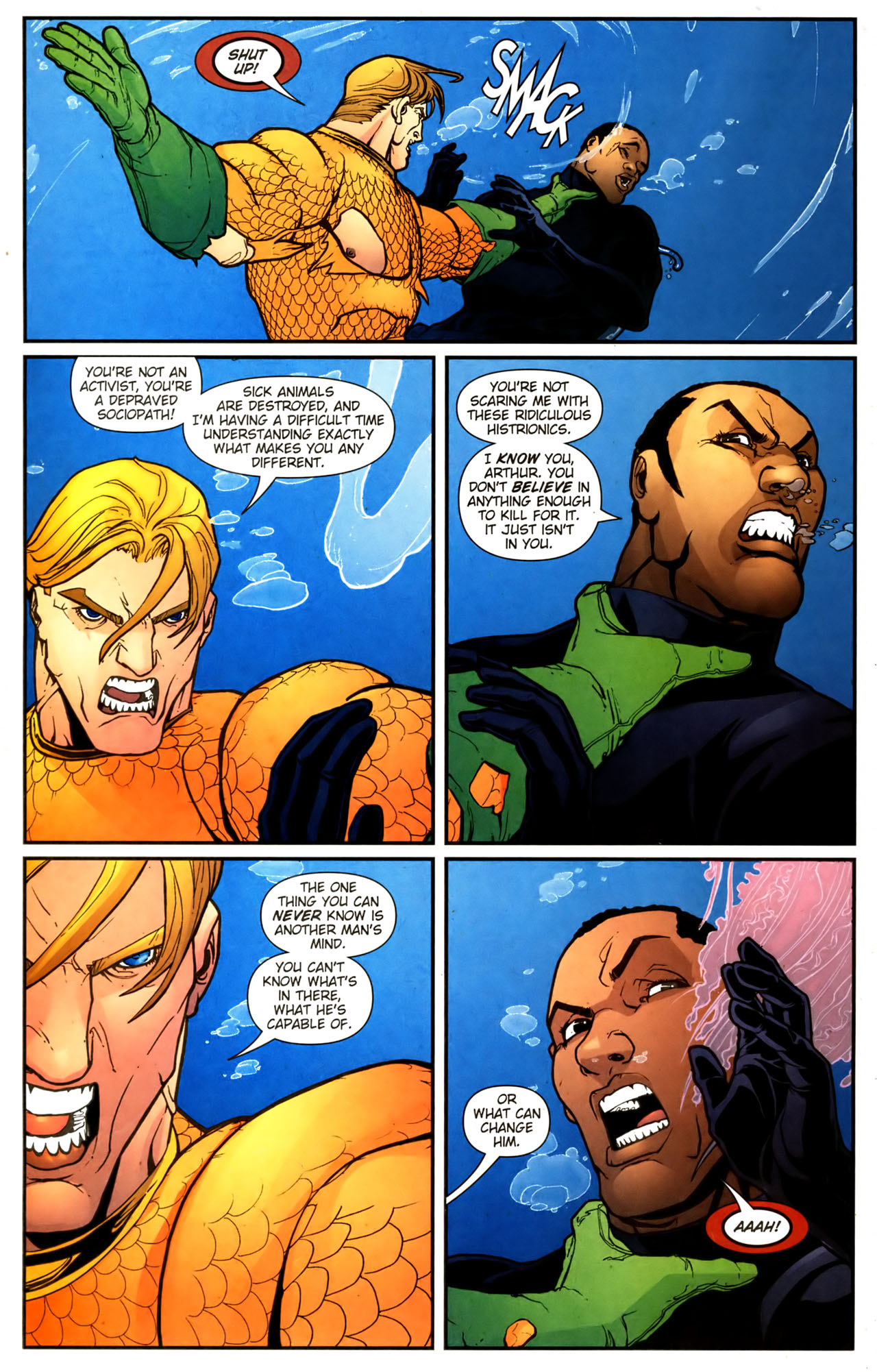 Read online Aquaman (2003) comic -  Issue #39 - 21