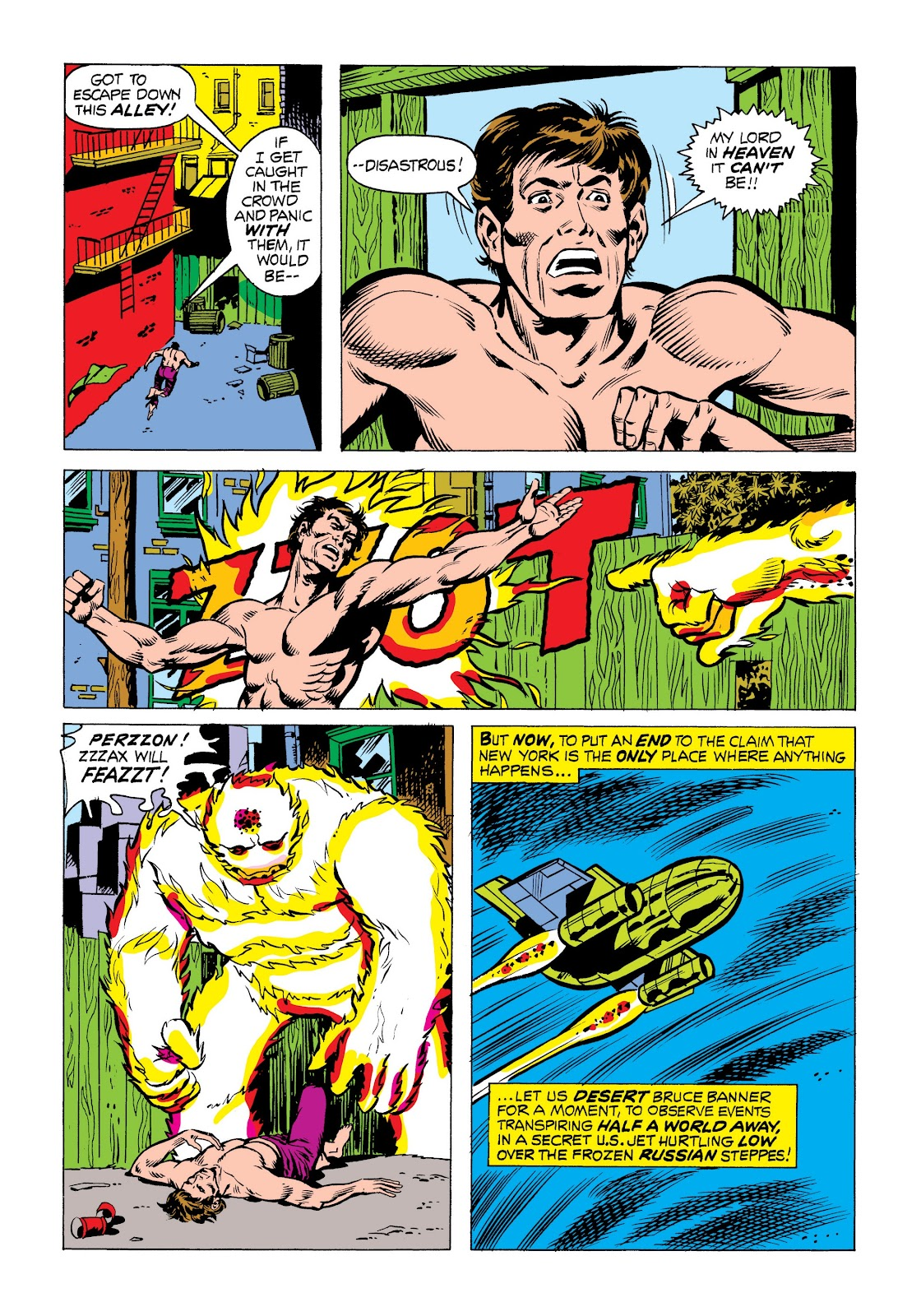 Read online Marvel Masterworks: The Incredible Hulk comic -  Issue # TPB 9 (Part 3) - 5